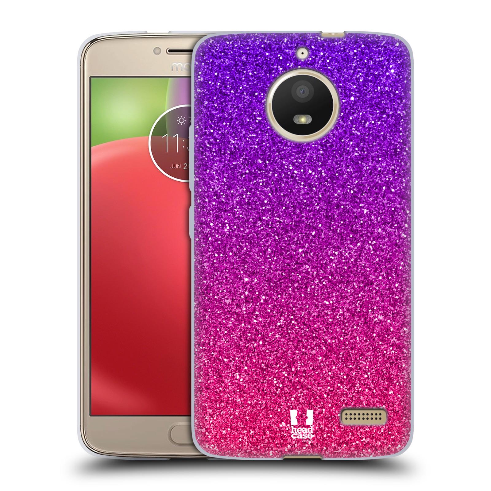 Silikonové pouzdro na mobil Lenovo Moto E4 - Head Case - Mix Pink (Silikonový kryt či obal na mobilní telefon Lenovo Moto E4 s motivem Mix Pink)