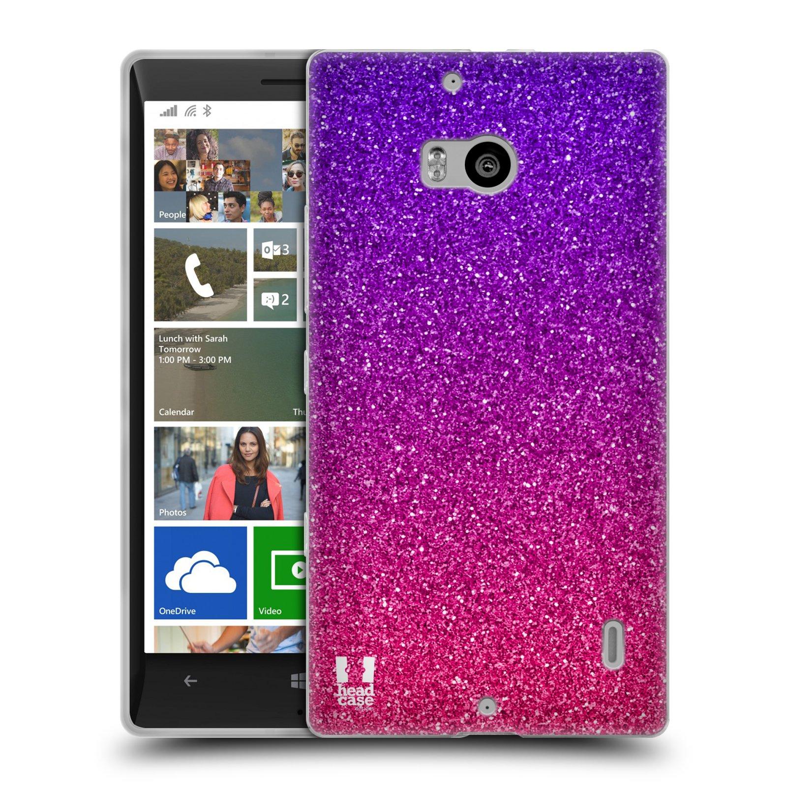 Silikonové pouzdro na mobil Nokia Lumia 930 HEAD CASE MIX PINK (Silikonový kryt či obal na mobilní telefon Nokia Lumia 930)