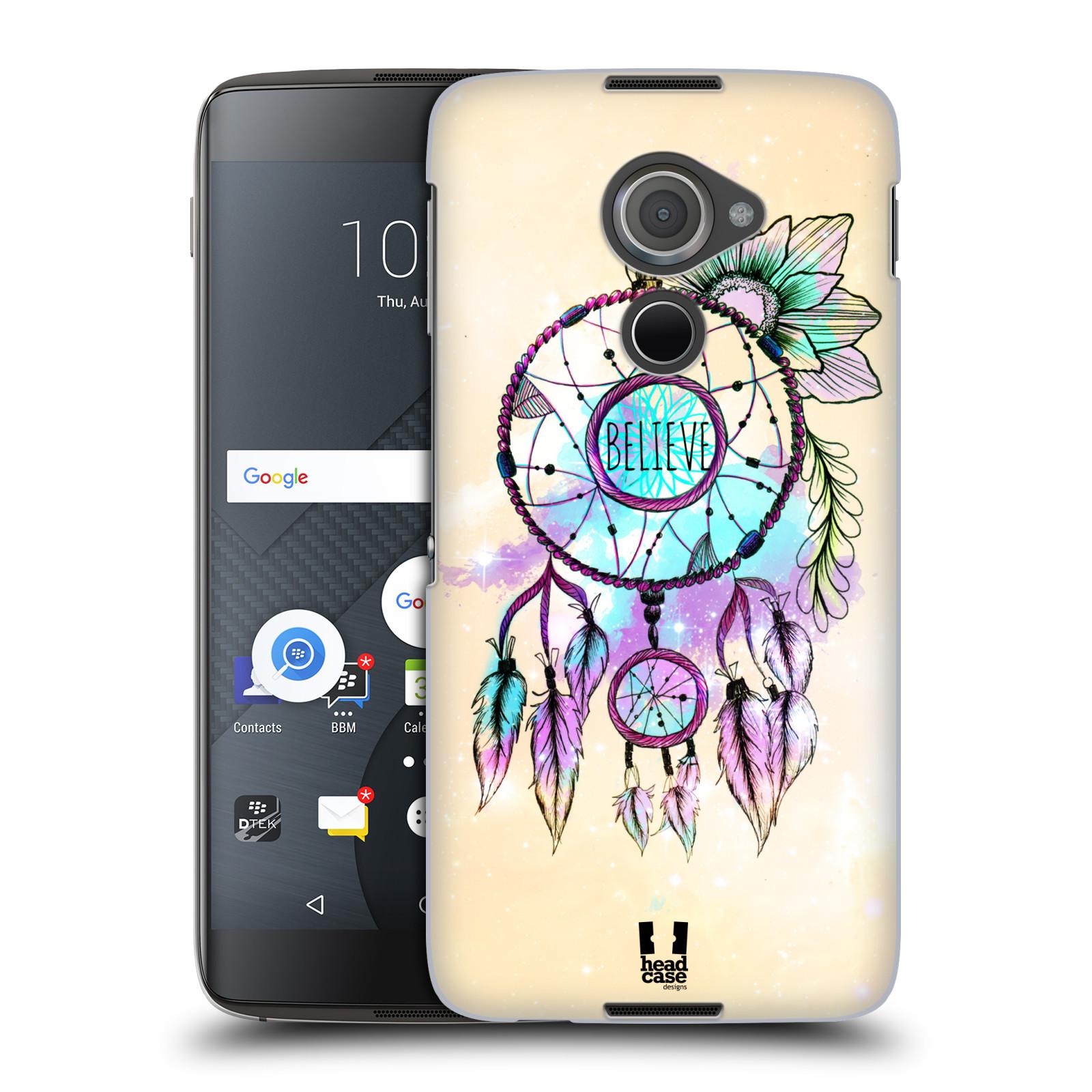 Plastové pouzdro na mobil Blackberry DTEK60 (Argon) - Head Case MIX BELIEVE