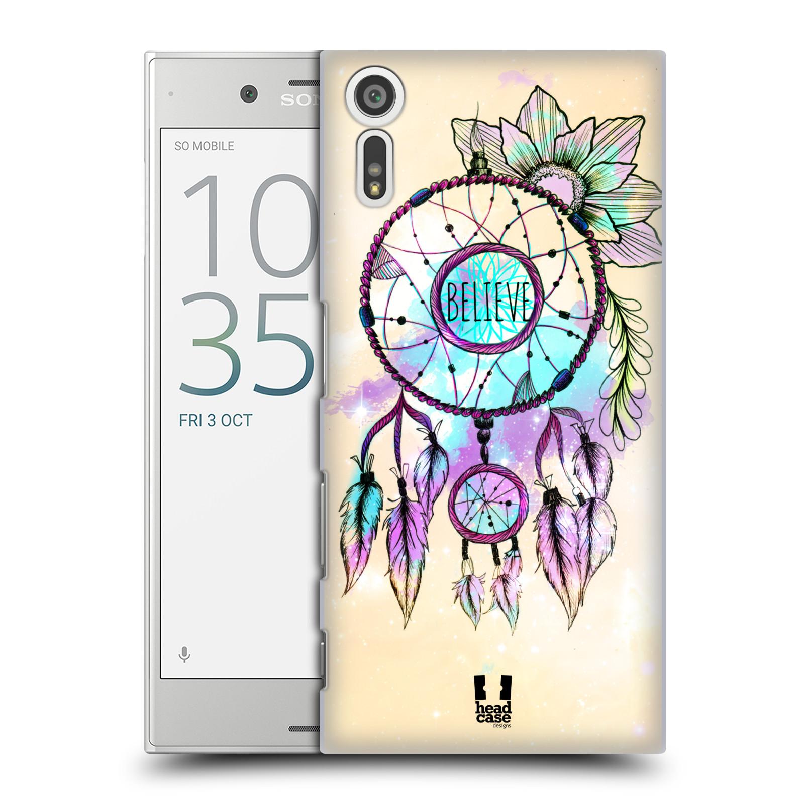 Plastové pouzdro na mobil Sony Xperia XZ - Head Case MIX BELIEVE