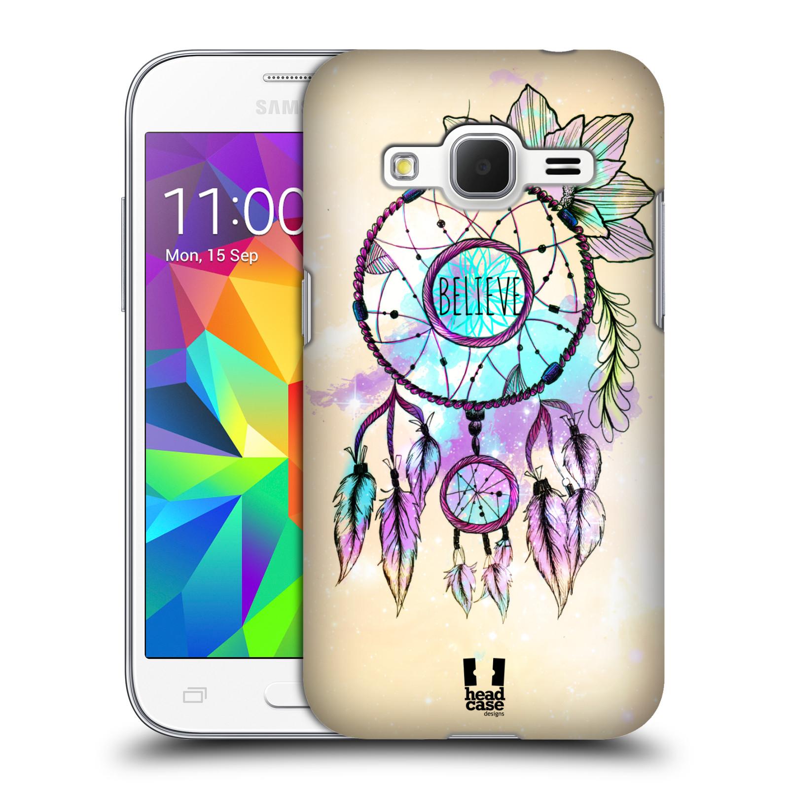 Plastové pouzdro na mobil Samsung Galaxy Core Prime VE HEAD CASE MIX BELIEVE