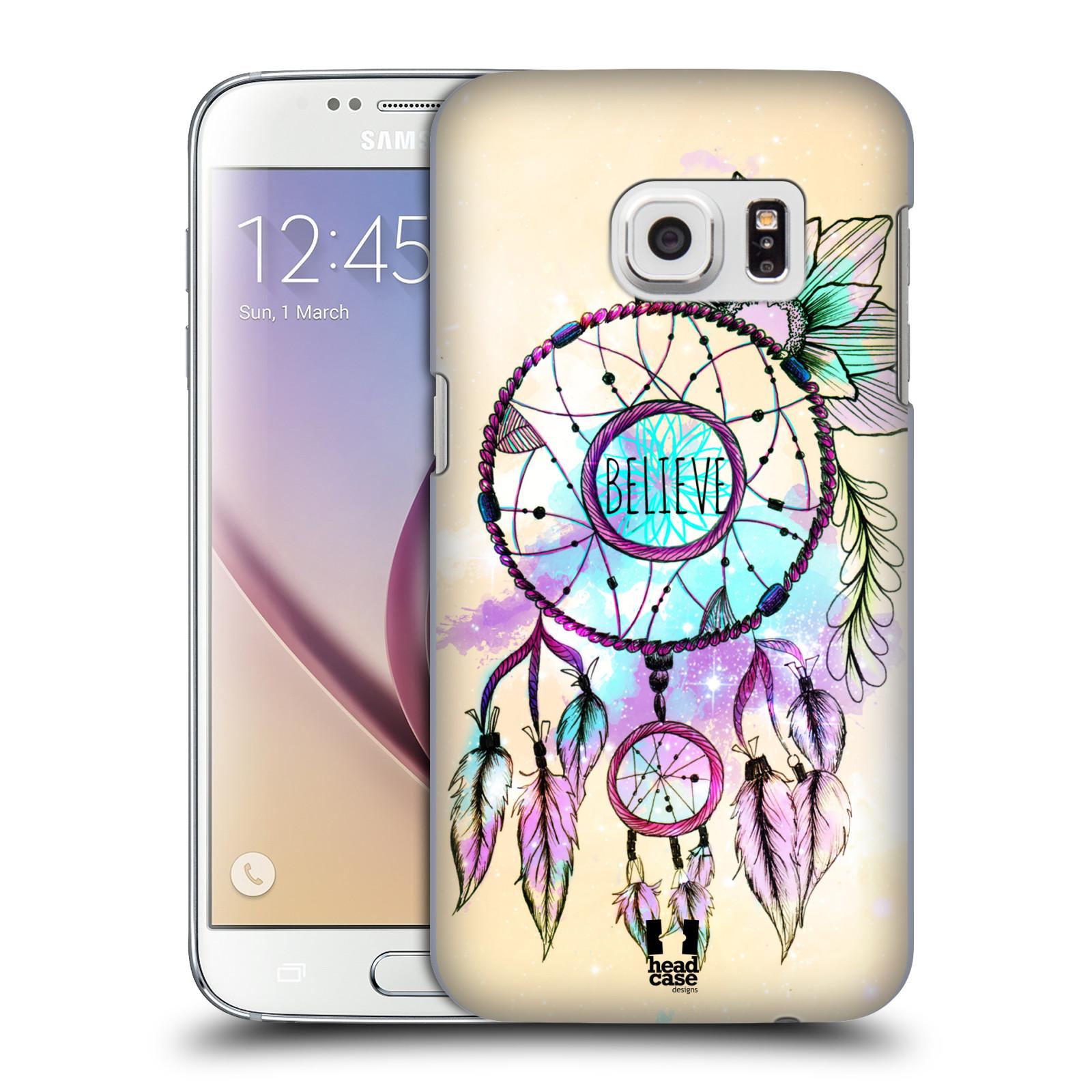 Plastové pouzdro na mobil Samsung Galaxy S7 HEAD CASE MIX BELIEVE