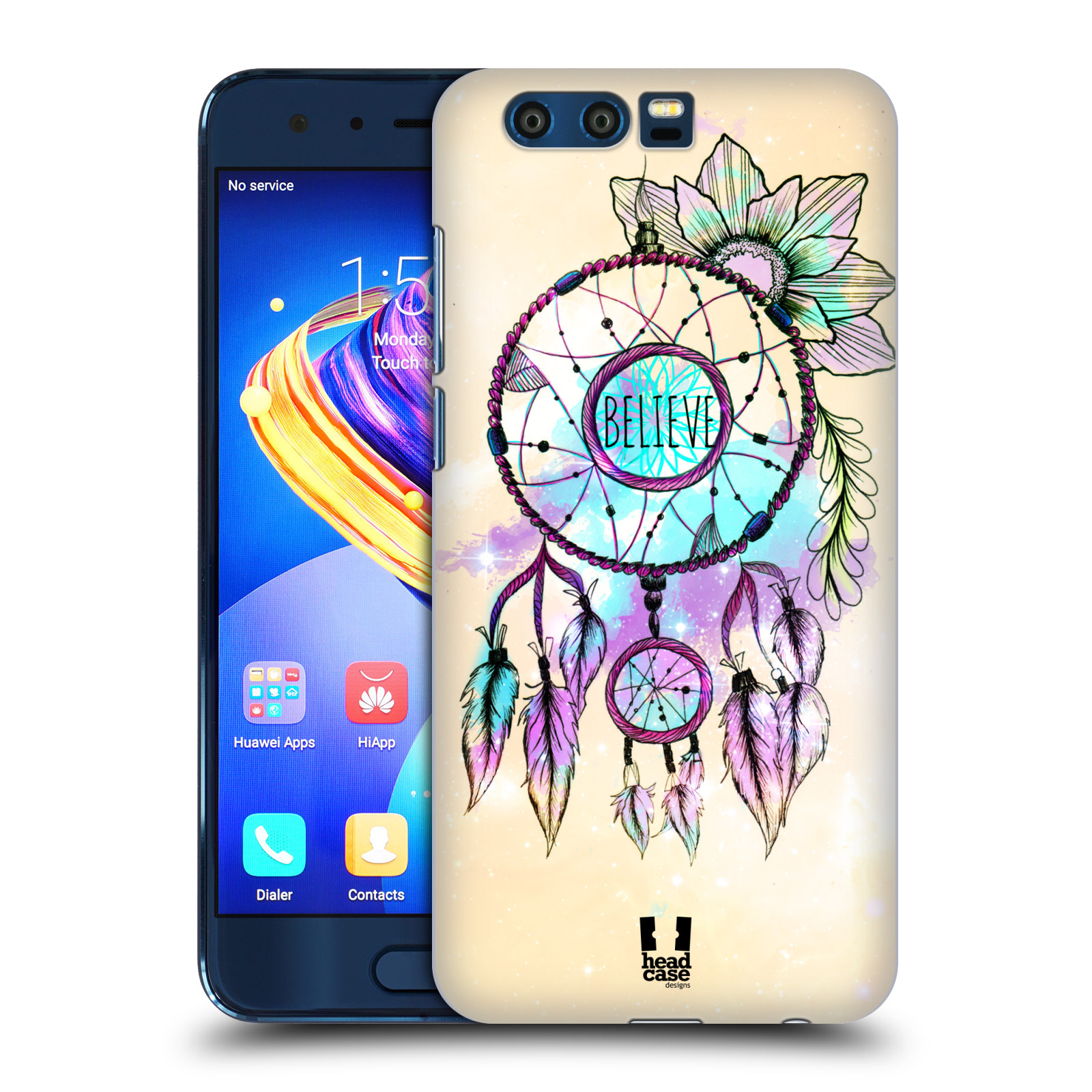 Plastové pouzdro na mobil Honor 9 - Head Case - MIX BELIEVE