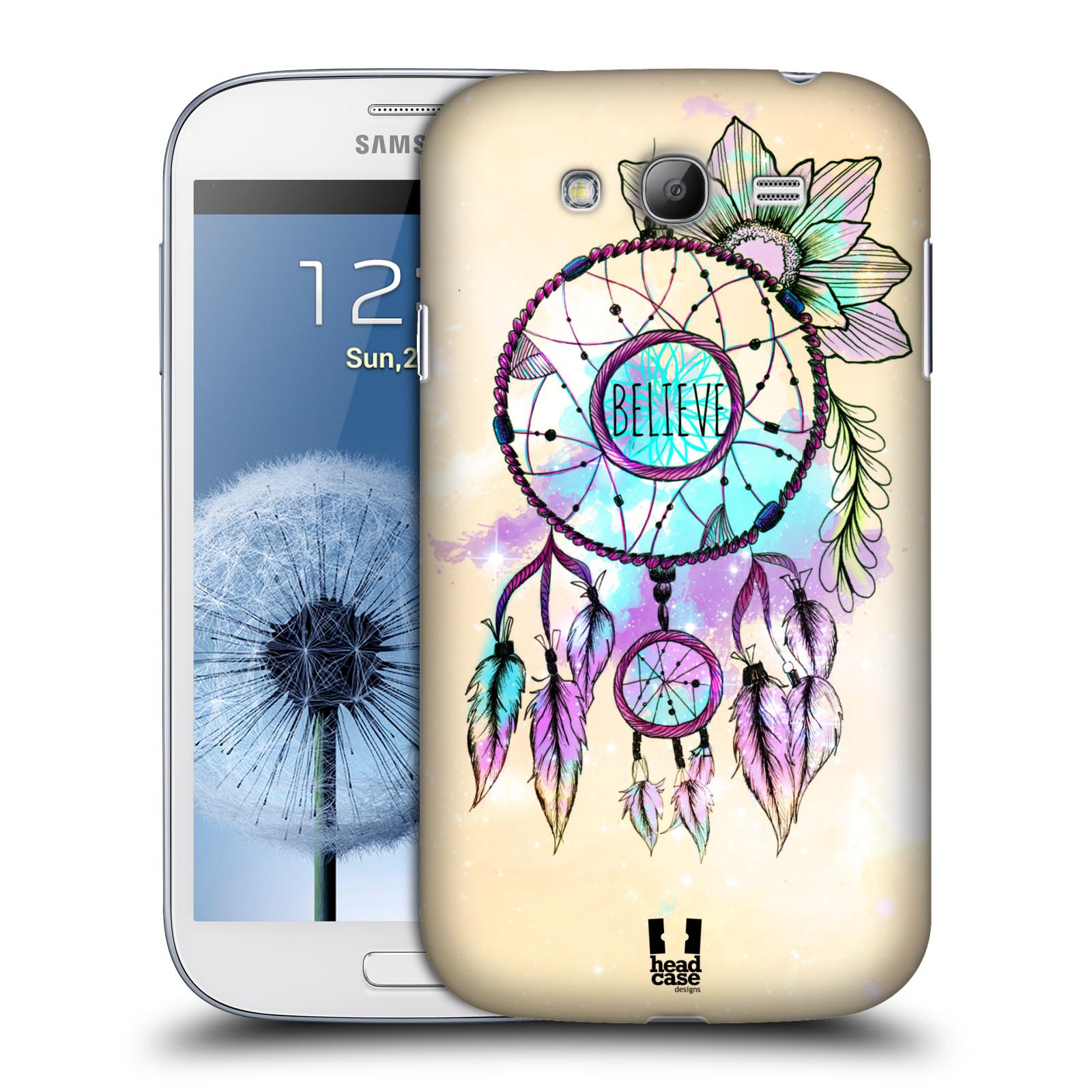 Plastové pouzdro na mobil Samsung Galaxy Grand Neo HEAD CASE MIX BELIEVE