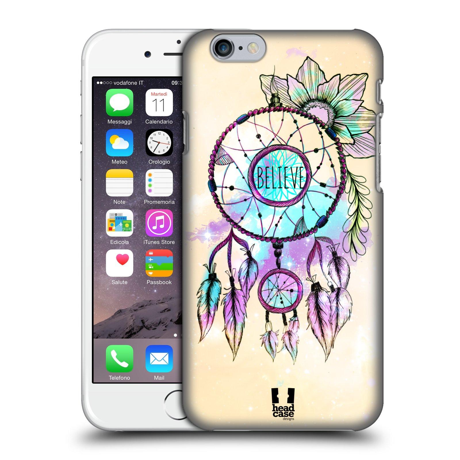 Plastové pouzdro na mobil Apple iPhone 6 a 6S HEAD CASE MIX BELIEVE