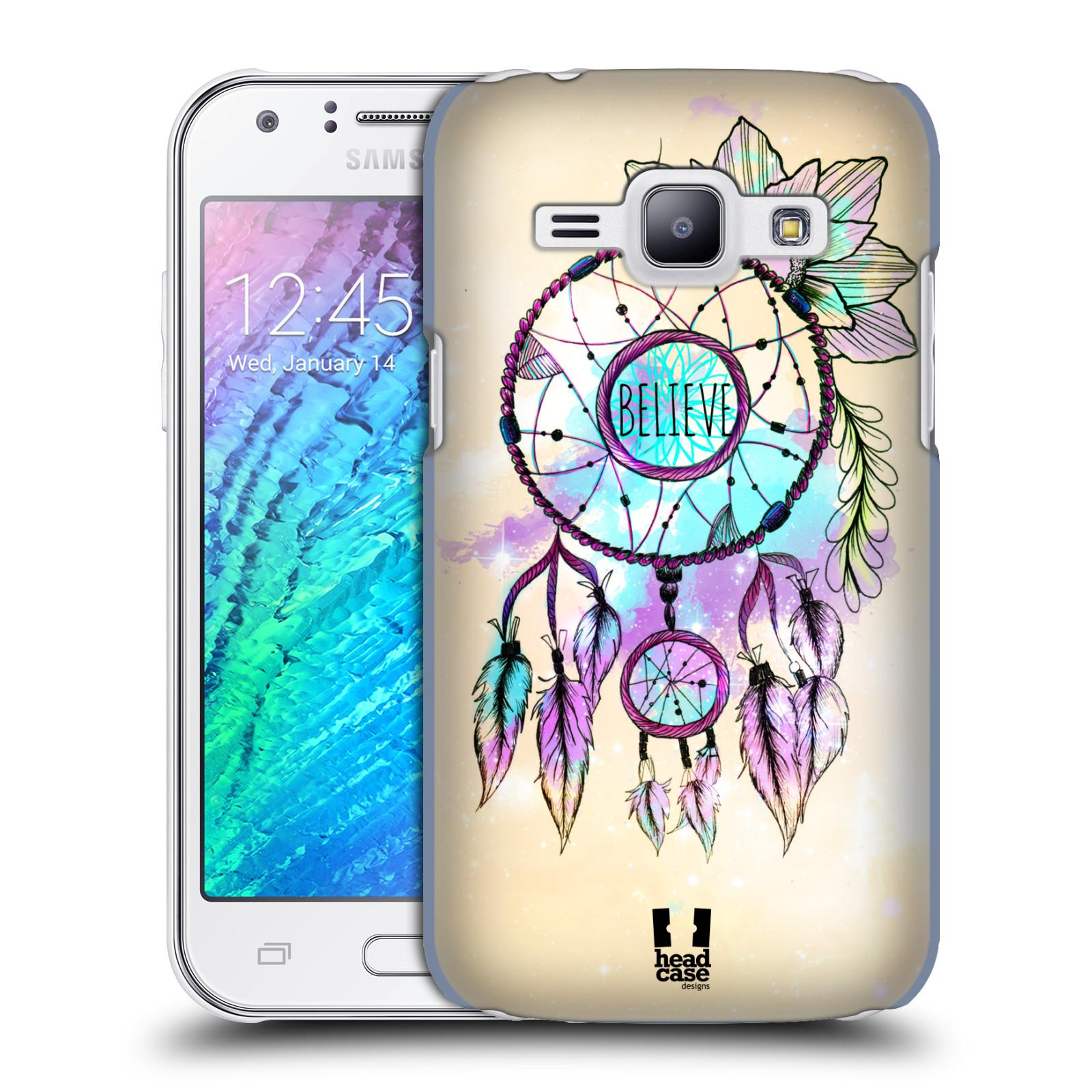 Plastové pouzdro na mobil Samsung Galaxy J1 HEAD CASE MIX BELIEVE