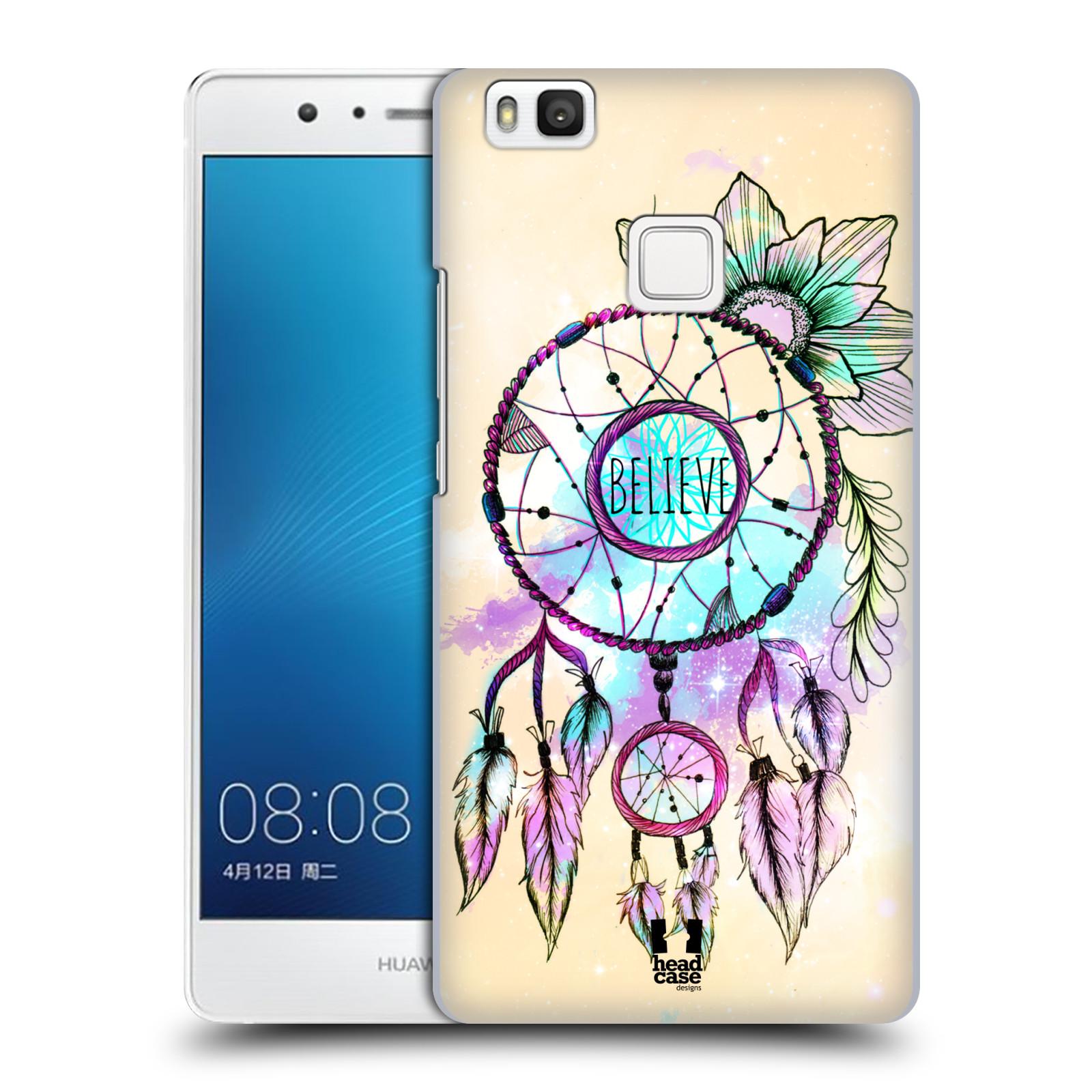 Plastové pouzdro na mobil Huawei P9 Lite HEAD CASE MIX BELIEVE