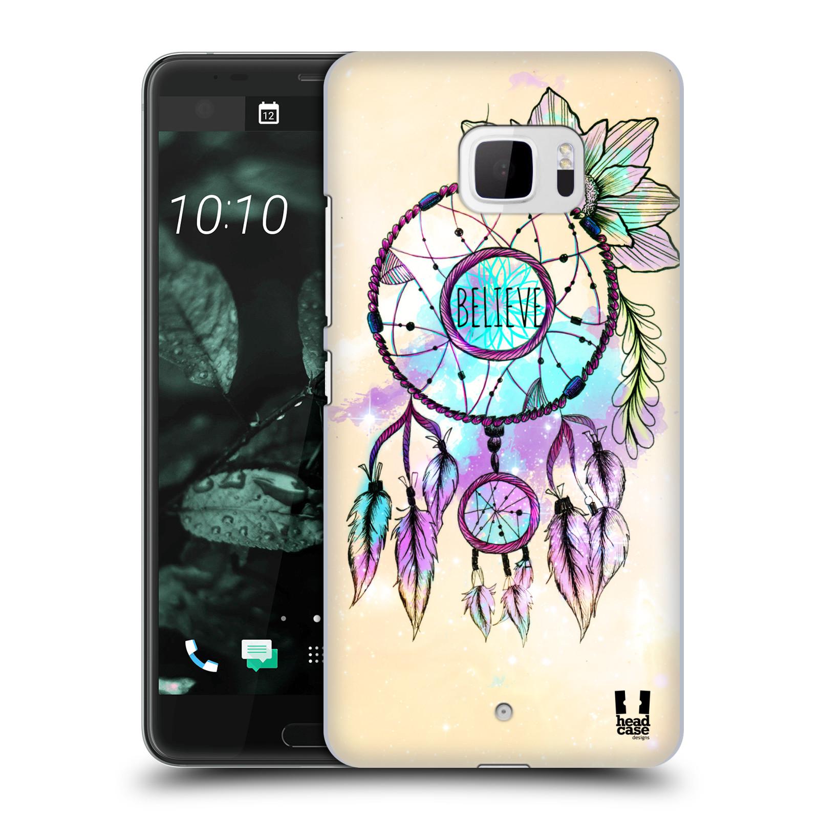 Plastové pouzdro na mobil HTC U Ultra Head Case - MIX BELIEVE (Plastový kryt či obal na mobilní telefon HTC U Ultra (99HALT015-00))