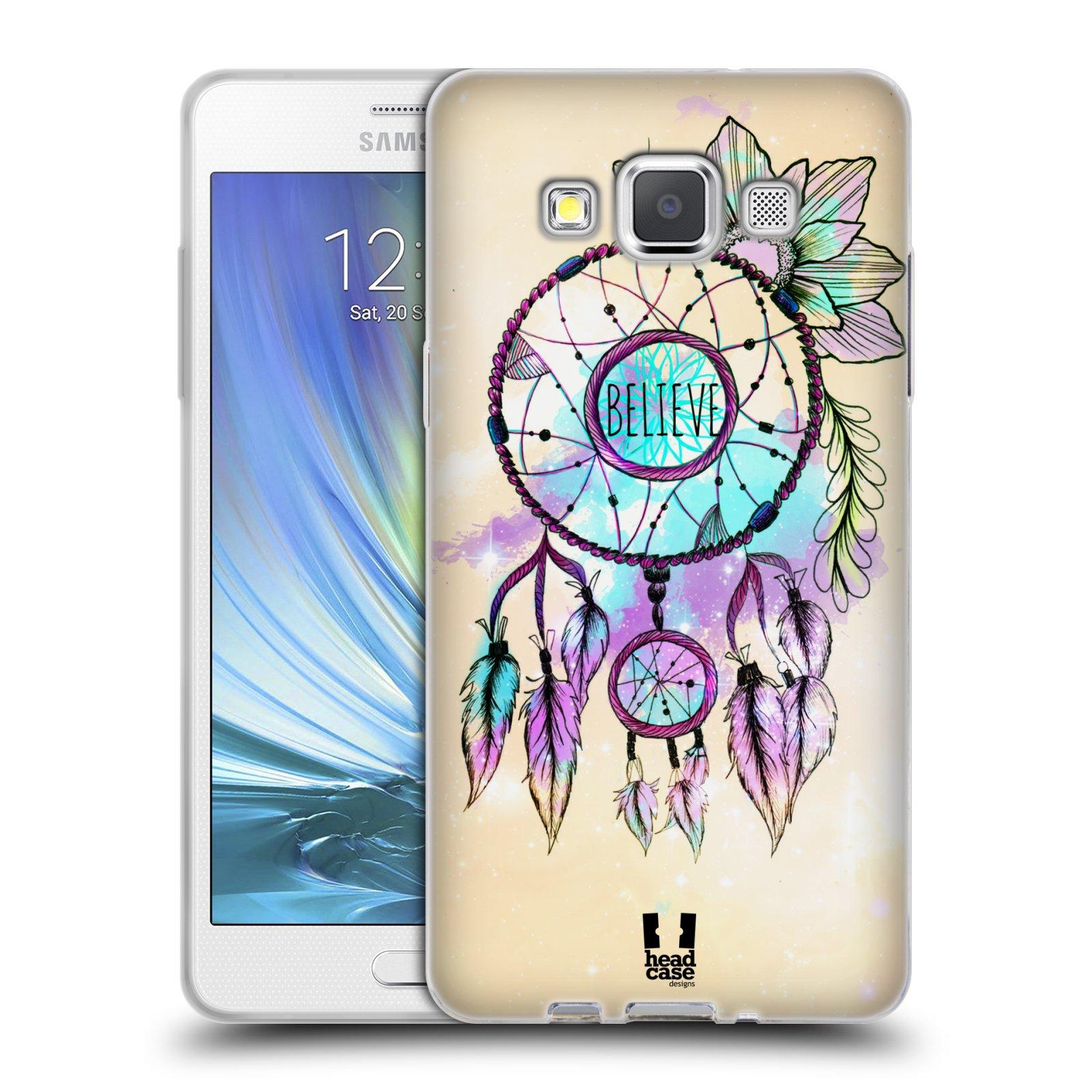 Silikonové pouzdro na mobil Samsung Galaxy A5 HEAD CASE MIX BELIEVE