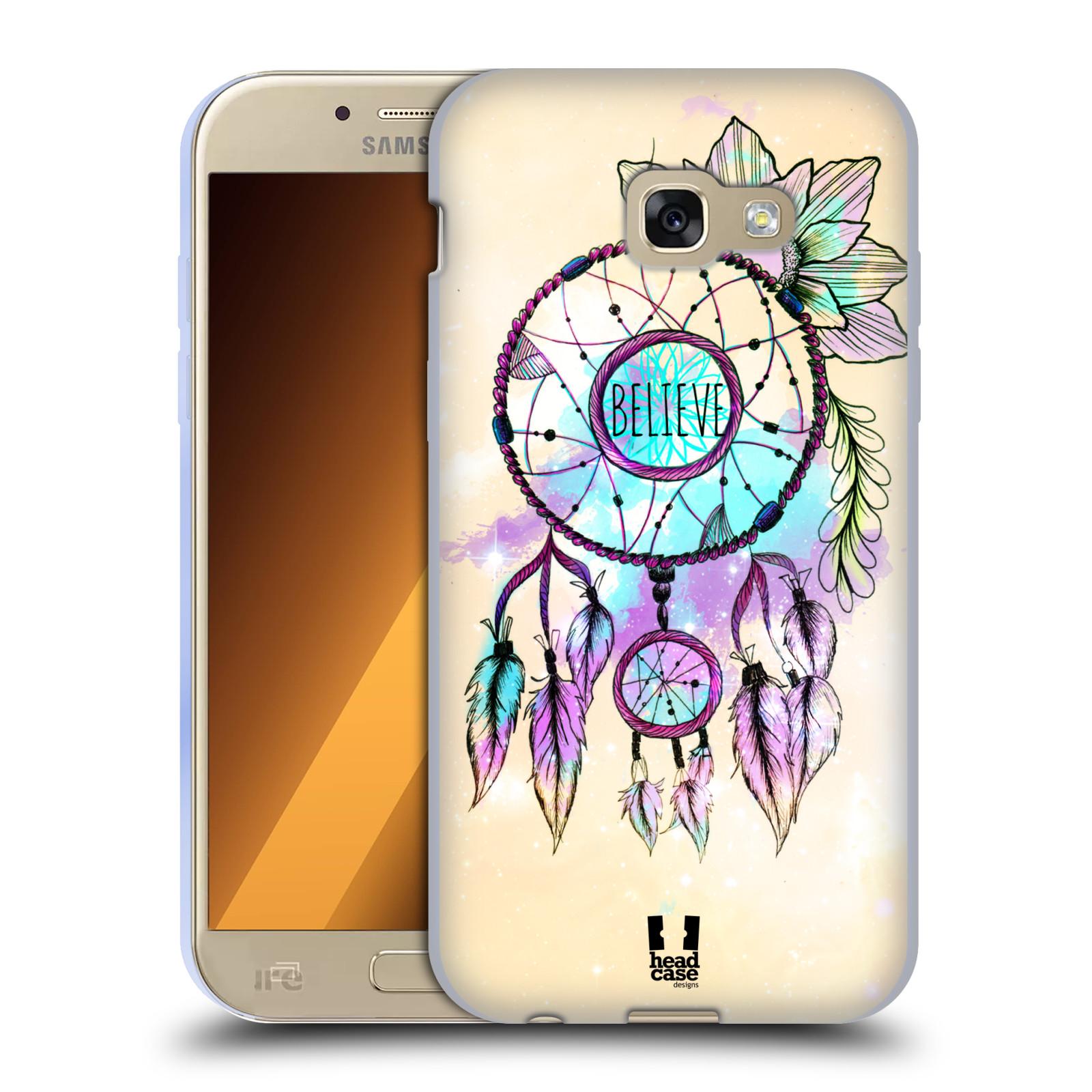 Silikonové pouzdro na mobil Samsung Galaxy A5 (2017) HEAD CASE MIX BELIEVE