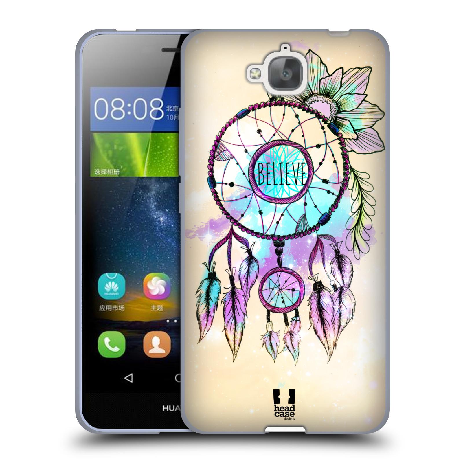 Silikonové pouzdro na mobil Huawei Y6 Pro Dual Sim HEAD CASE MIX BELIEVE