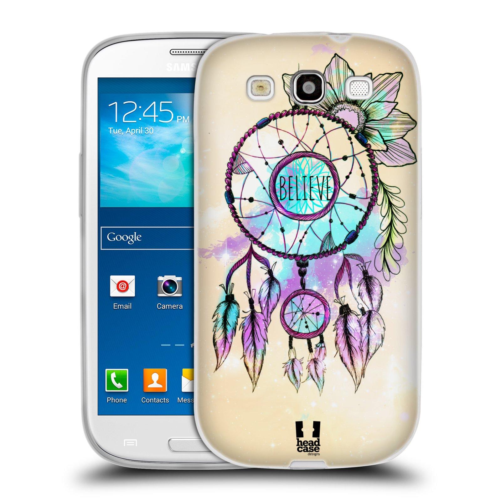 Silikonové pouzdro na mobil Samsung Galaxy S3 Neo HEAD CASE MIX BELIEVE (Silikonový kryt či obal na mobilní telefon Samsung Galaxy S3 Neo GT-i9301i)