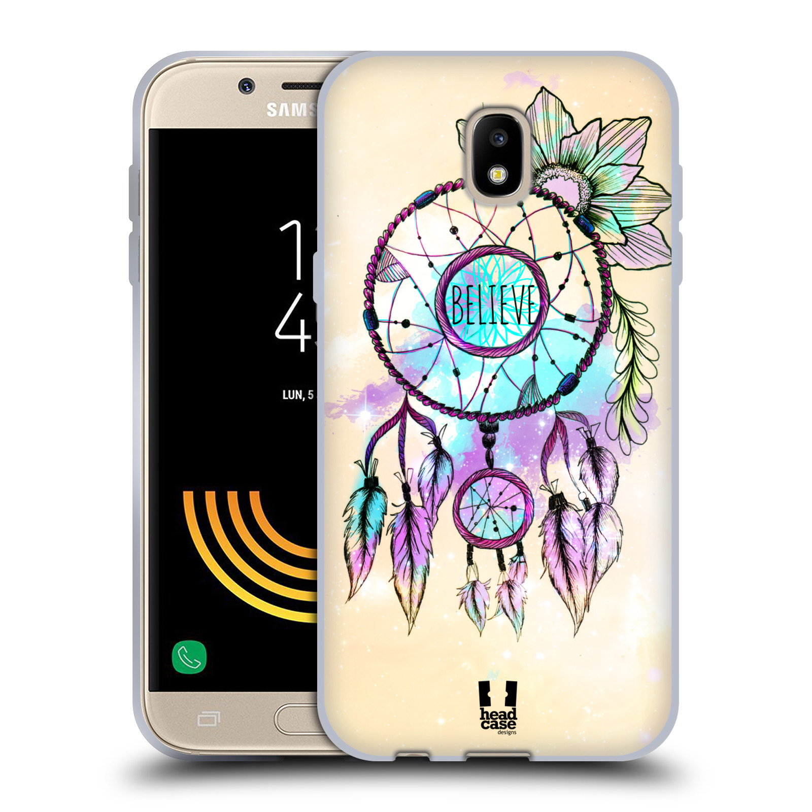 Silikonové pouzdro na mobil Samsung Galaxy J5 (2017) - Head Case - MIX BELIEVE