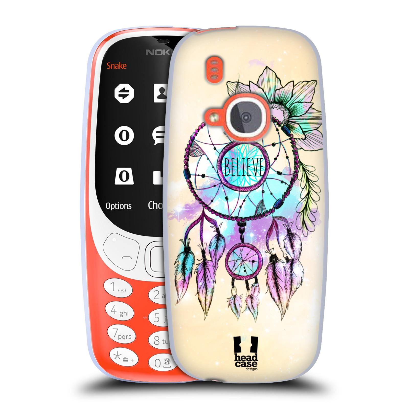 Silikonové pouzdro na mobil Nokia 3310 - Head Case - MIX BELIEVE