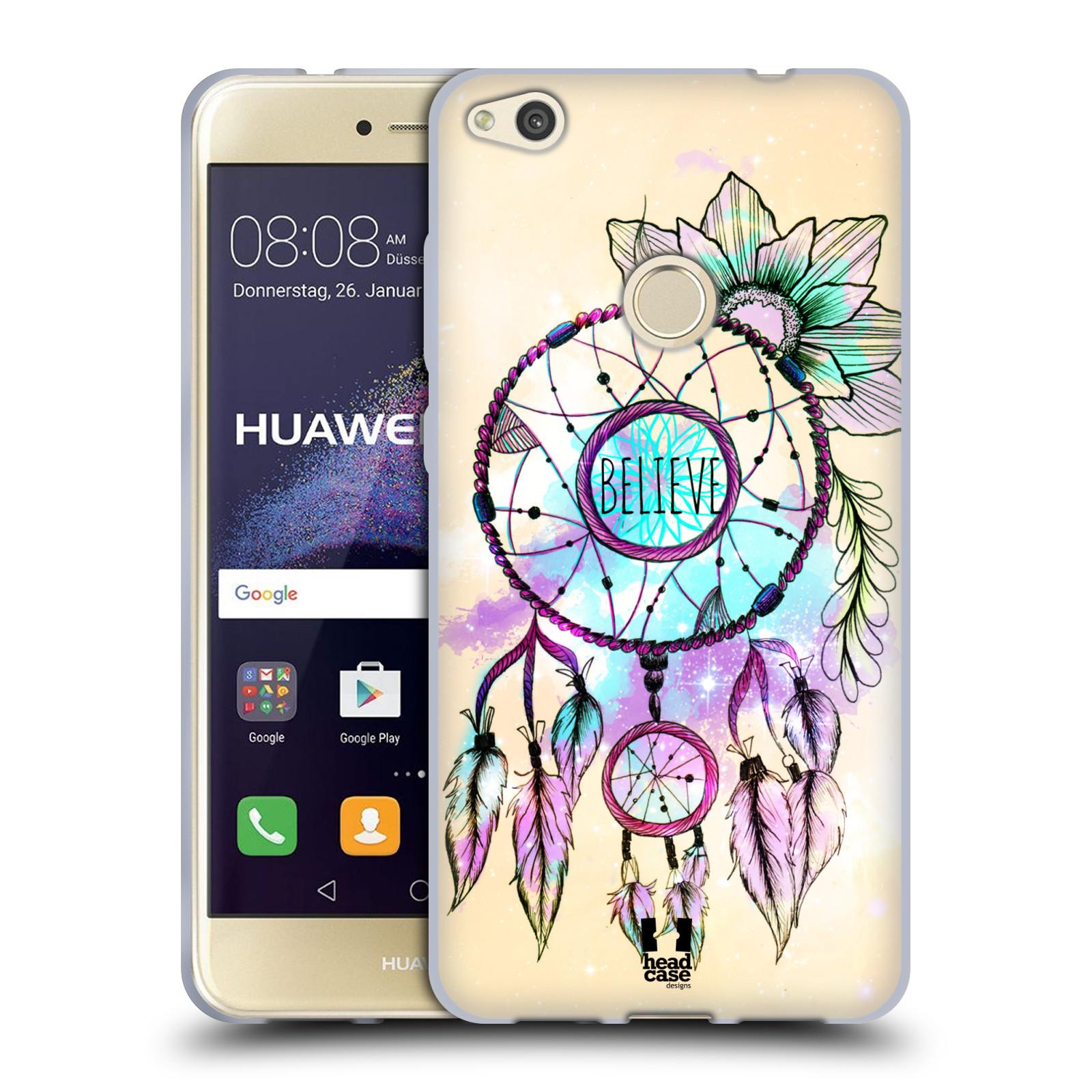 Silikonové pouzdro na mobil Huawei P9 Lite (2017) HEAD CASE MIX BELIEVE