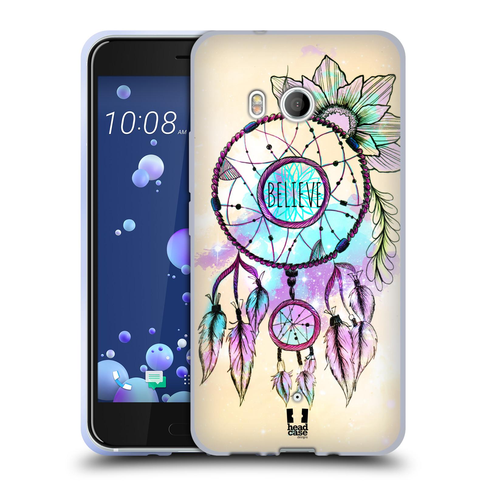 Silikonové pouzdro na mobil HTC U11 - Head Case - MIX BELIEVE