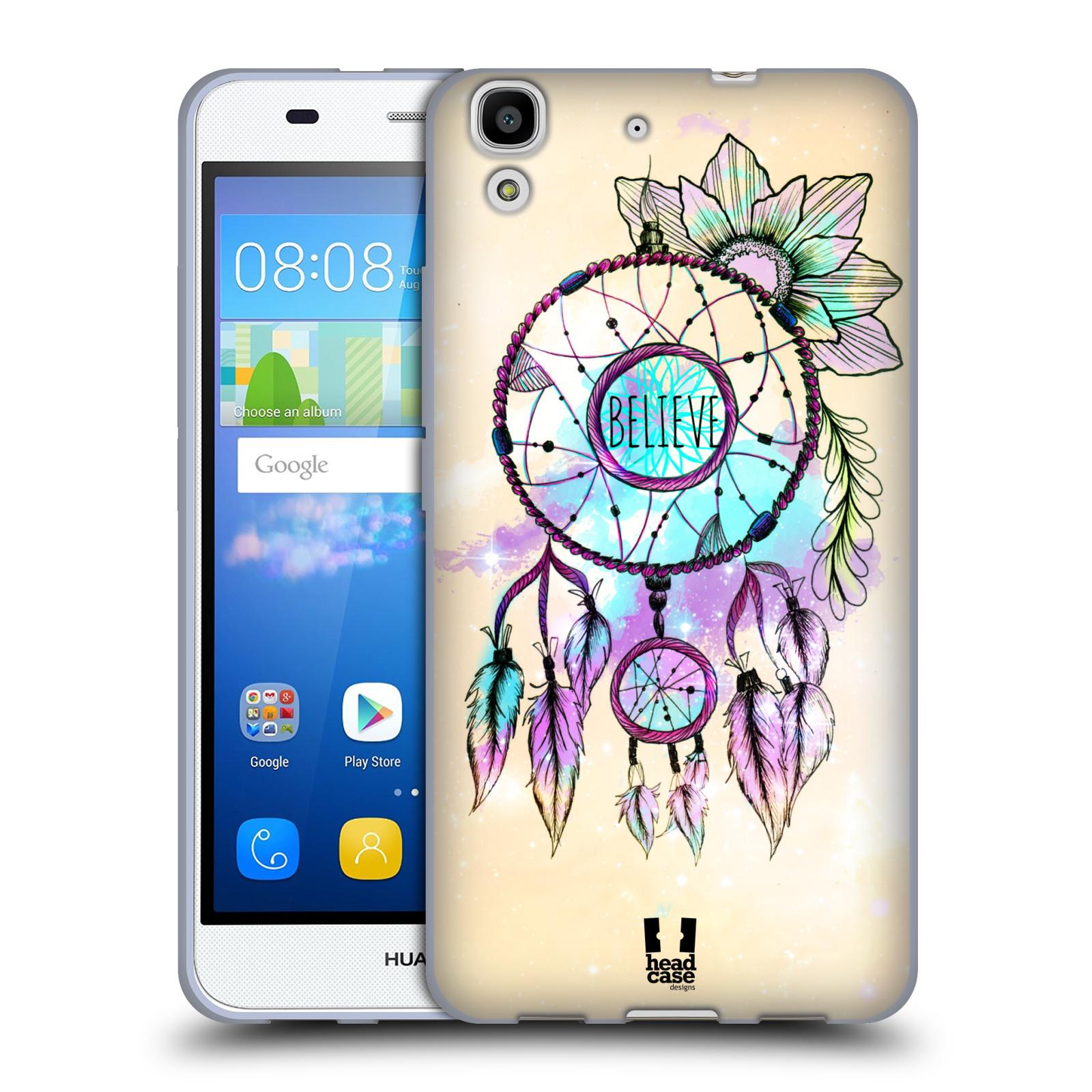 Silikonové pouzdro na mobil Huawei Y6 HEAD CASE MIX BELIEVE