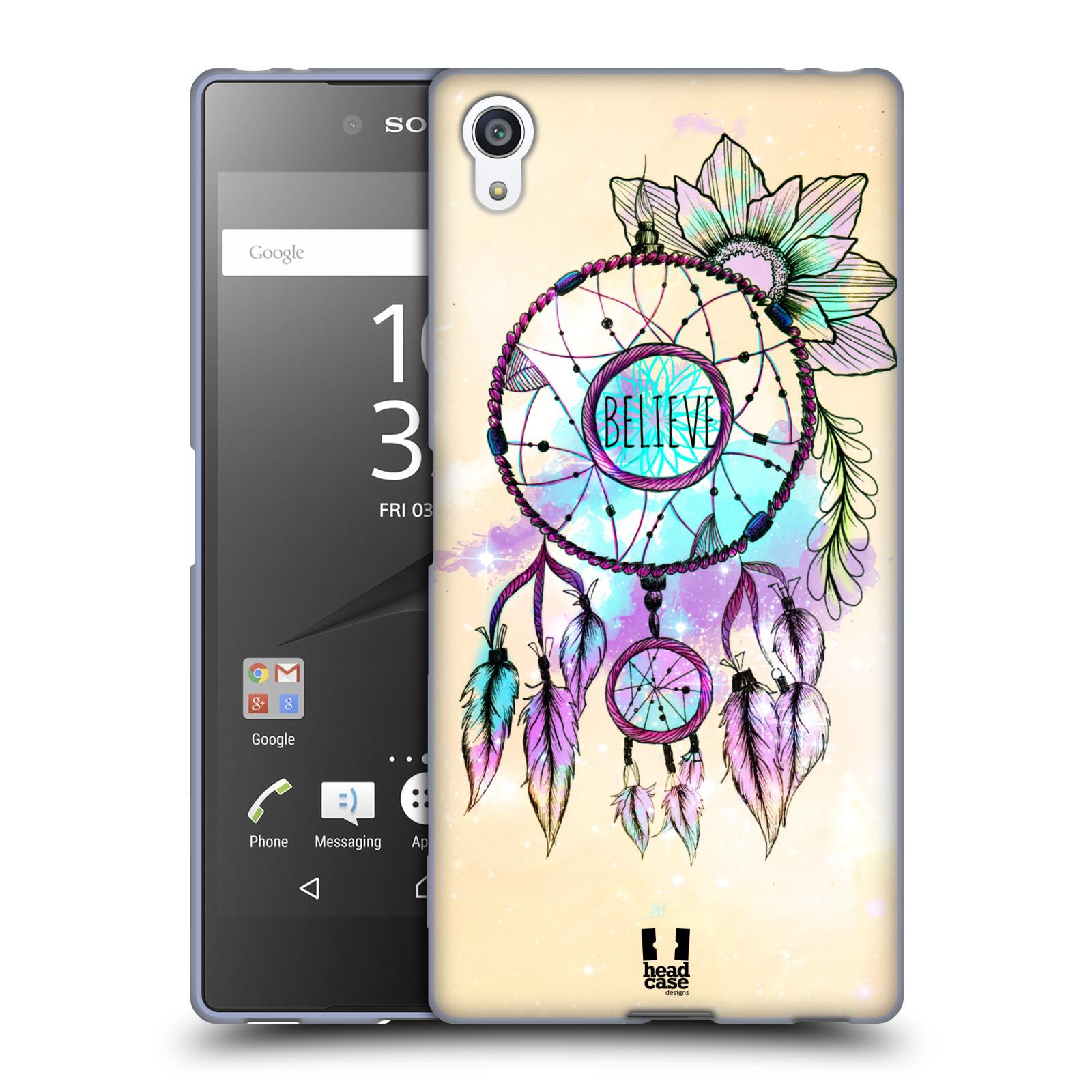 Silikonové pouzdro na mobil Sony Xperia Z5 Premium HEAD CASE MIX BELIEVE