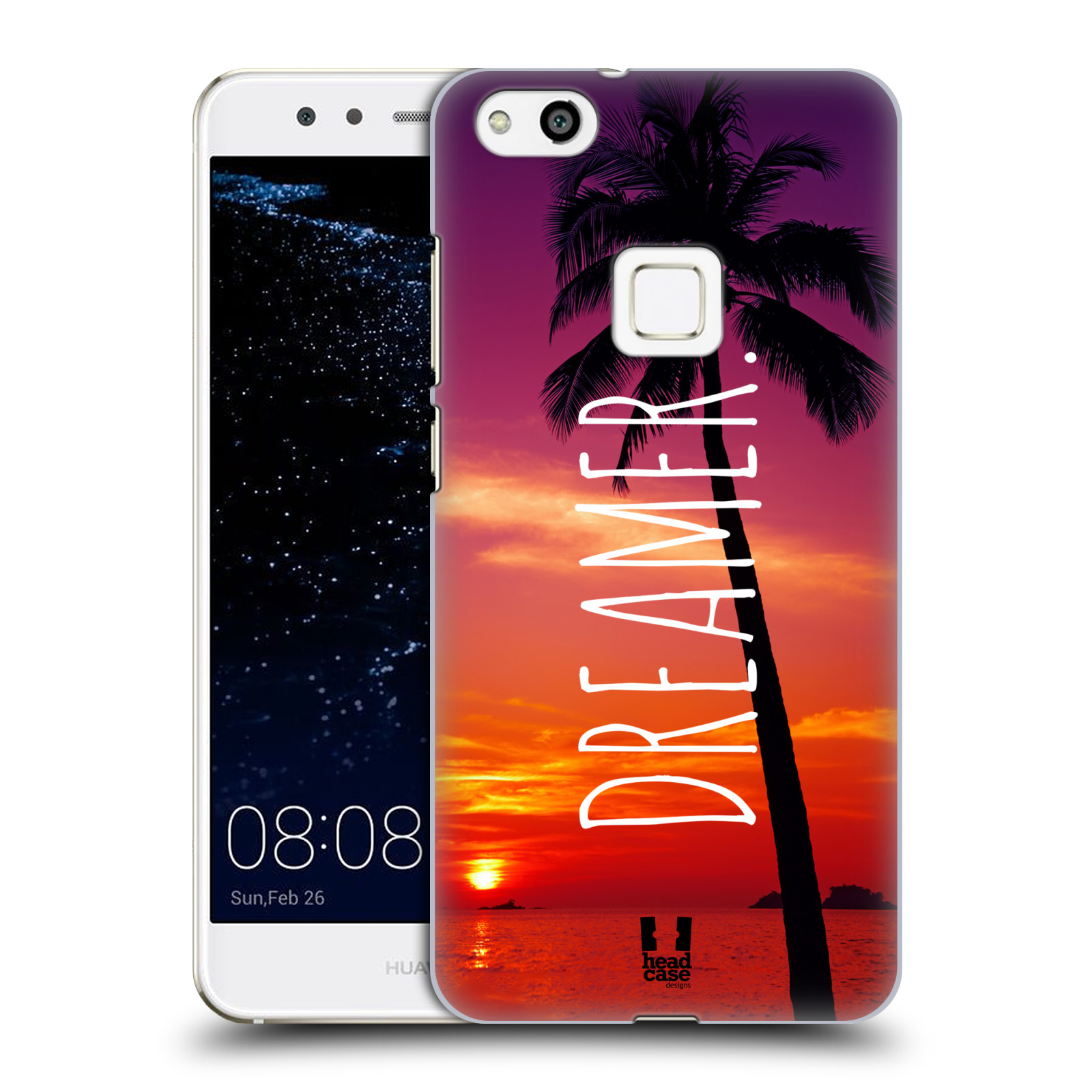 Plastové pouzdro na mobil Huawei P10 Lite Head Case - MIX DREAMER (Plastový kryt či obal na mobilní telefon Huawei P10 Lite Dual SIM (LX1/LX1A))
