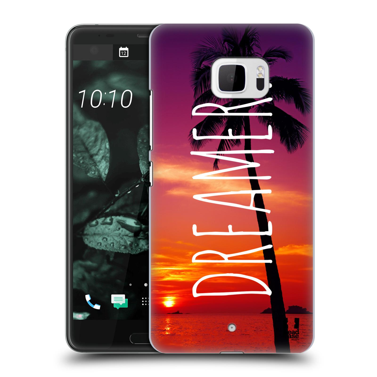 Plastové pouzdro na mobil HTC U Ultra Head Case - MIX DREAMER (Plastový kryt či obal na mobilní telefon HTC U Ultra (99HALT015-00))