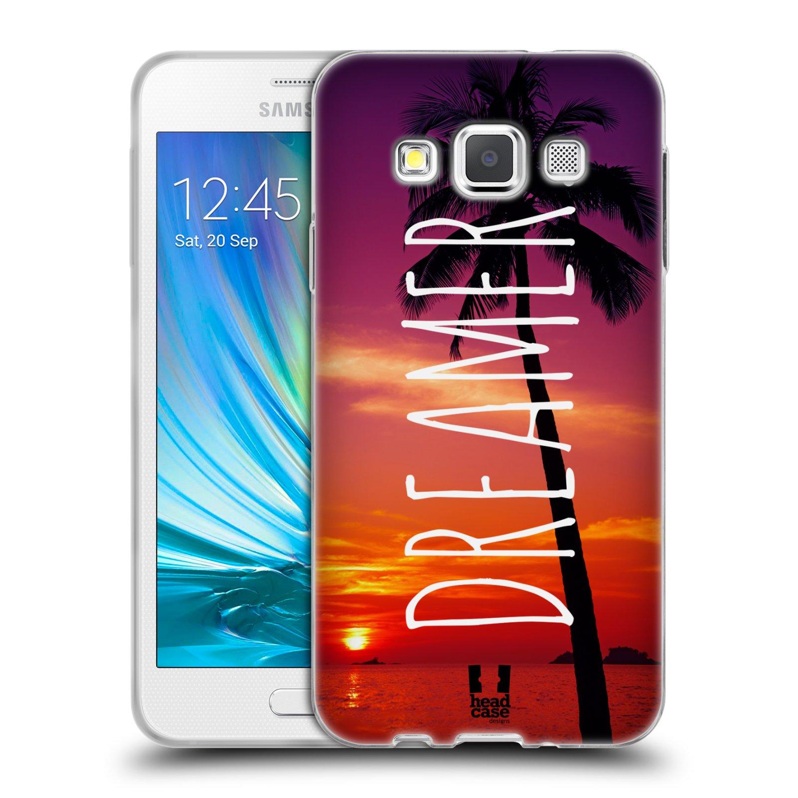 Silikonové pouzdro na mobil Samsung Galaxy A3 HEAD CASE MIX DREAMER