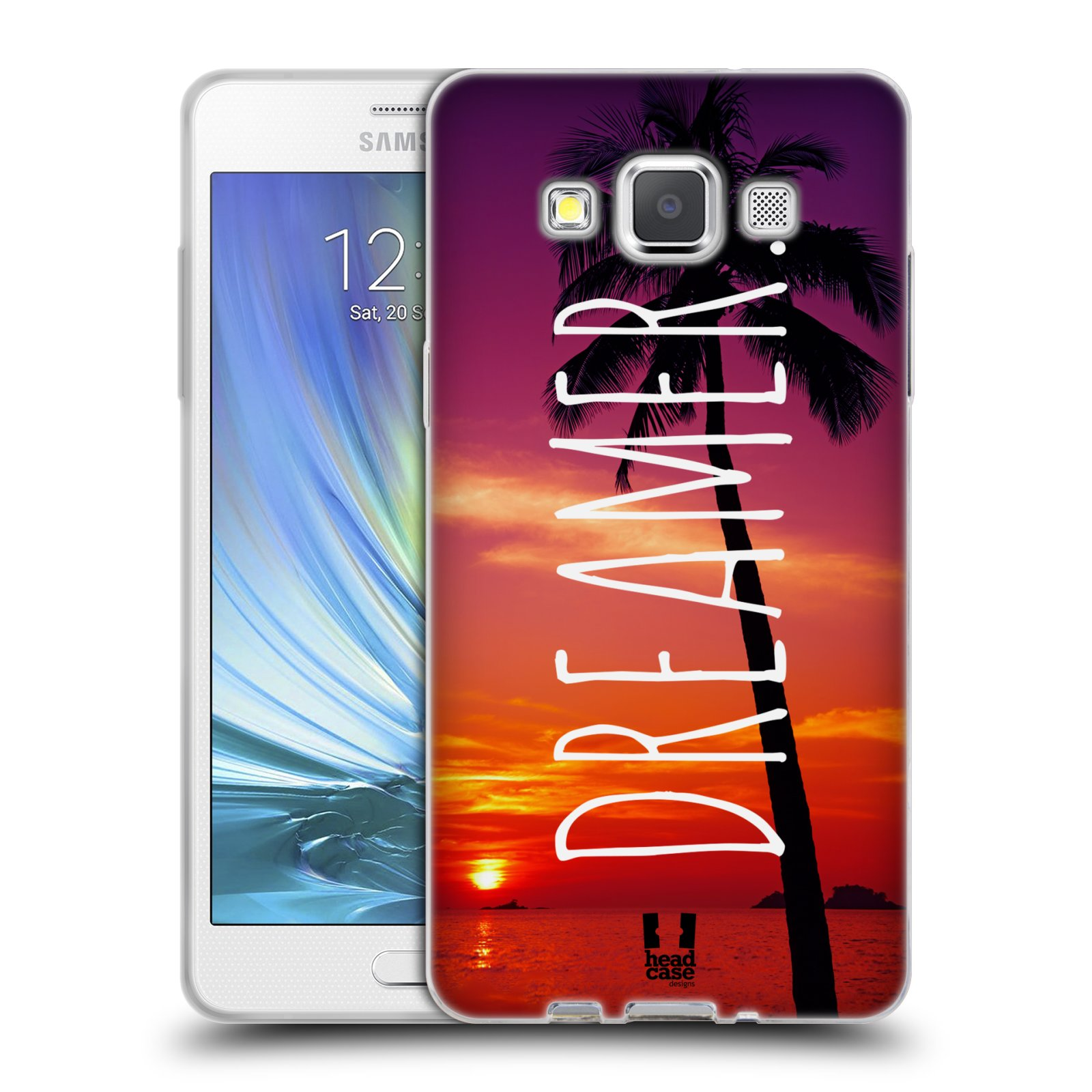 Silikonové pouzdro na mobil Samsung Galaxy A5 HEAD CASE MIX DREAMER