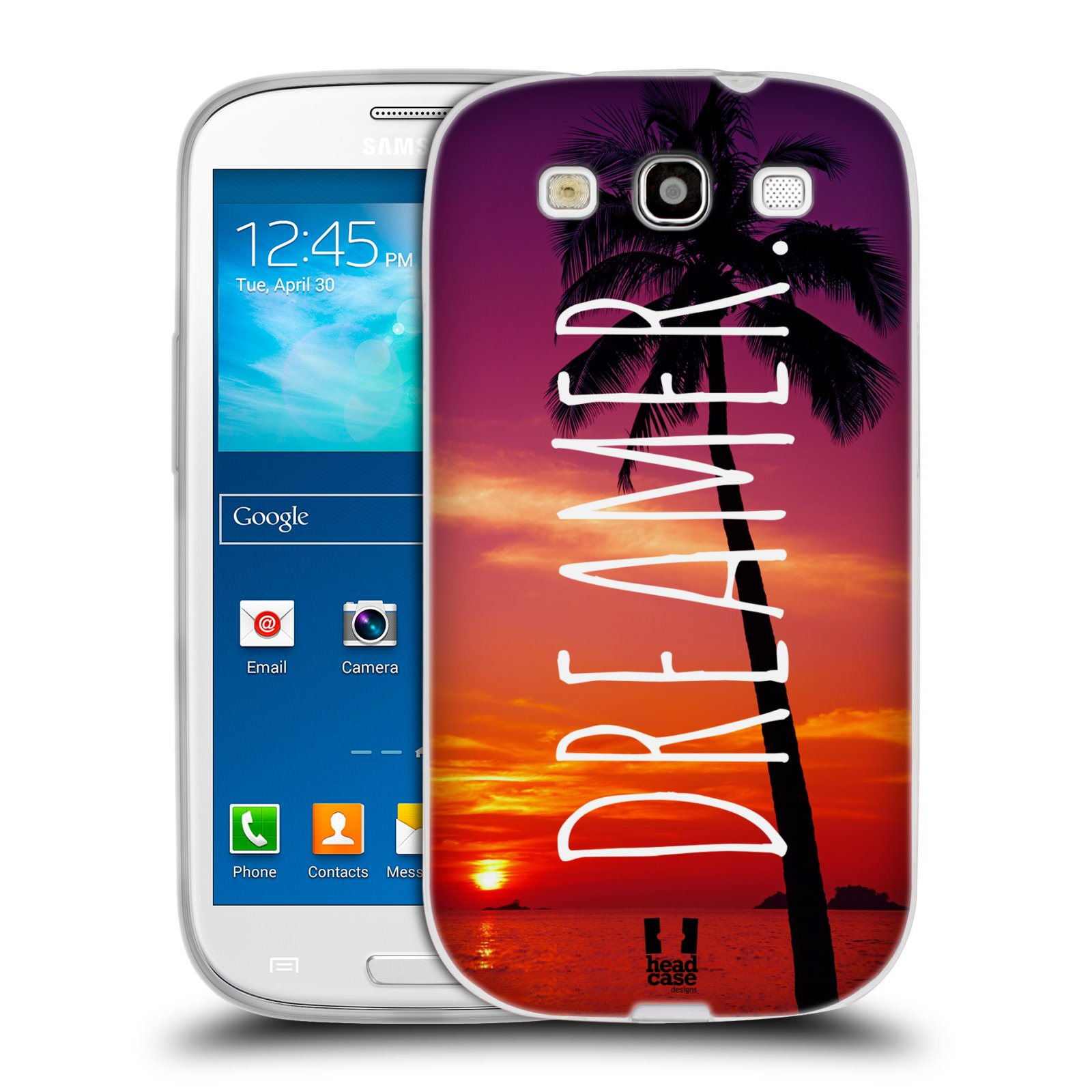 Silikonové pouzdro na mobil Samsung Galaxy S3 Neo HEAD CASE MIX DREAMER (Silikonový kryt či obal na mobilní telefon Samsung Galaxy S3 Neo GT-i9301i)