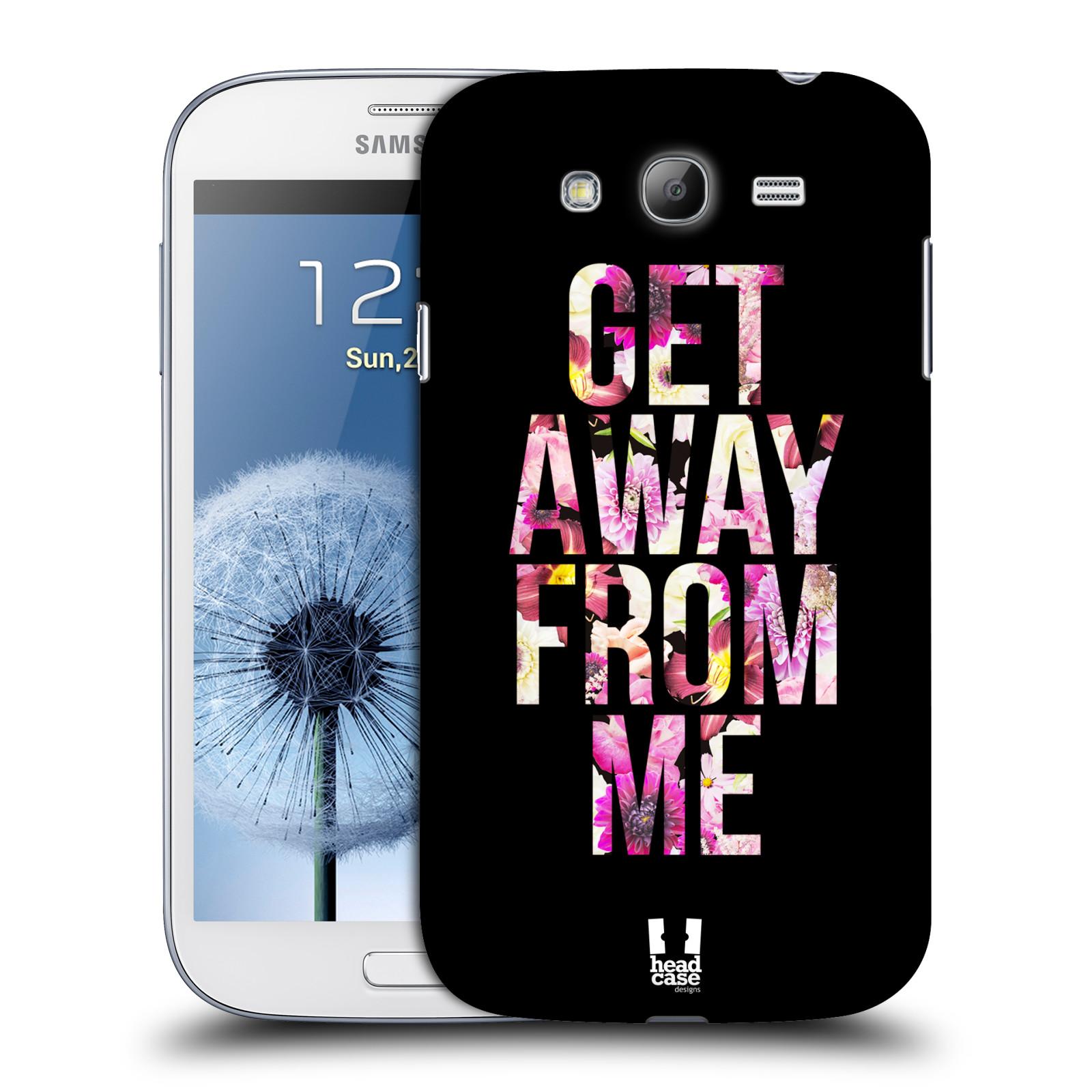 Plastové pouzdro na mobil Samsung Galaxy Grand Neo Plus HEAD CASE MIX GET AWAY (Kryt či obal na mobilní telefon Samsung Galaxy Grand Neo Plus GT-i9060i)