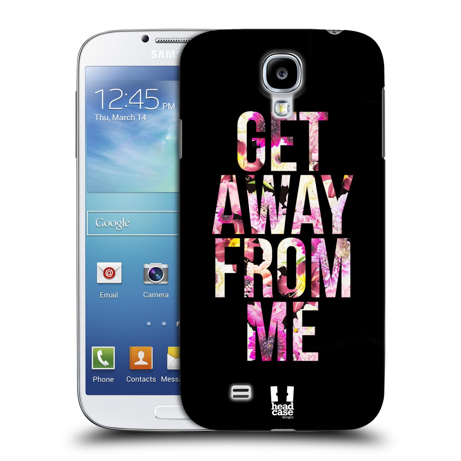 Plastové pouzdro na mobil Samsung Galaxy S4 HEAD CASE MIX GET AWAY (Kryt či obal na mobilní telefon Samsung Galaxy S4 GT-i9505 / i9500)