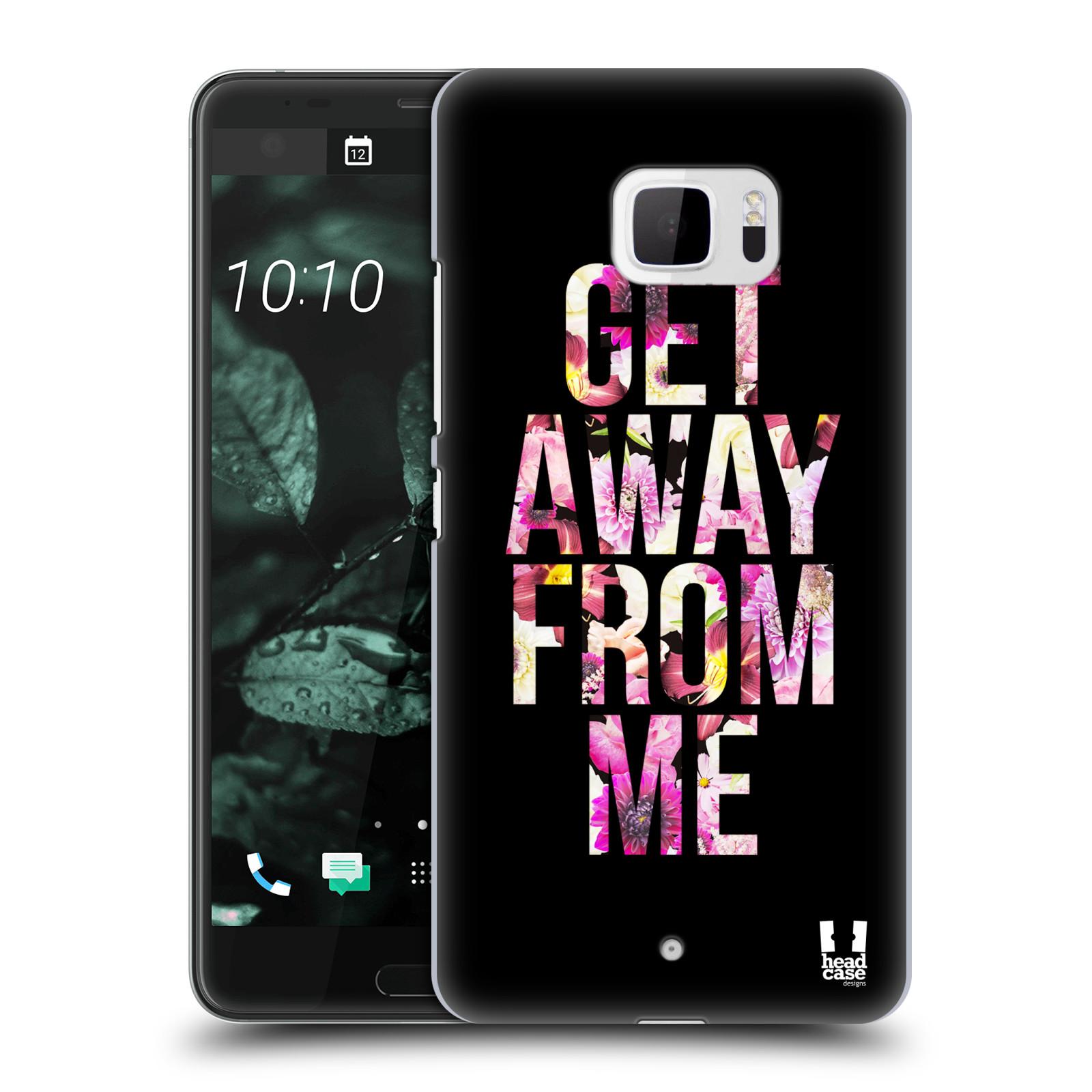 Plastové pouzdro na mobil HTC U Ultra Head Case - MIX GET AWAY (Plastový kryt či obal na mobilní telefon HTC U Ultra (99HALT015-00))