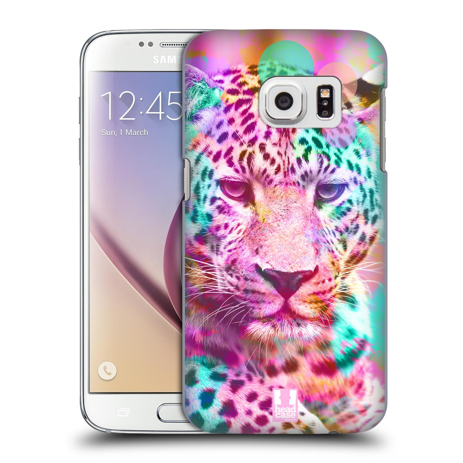 Plastové pouzdro na mobil Samsung Galaxy S7 HEAD CASE MIX LEOPARD (Kryt či obal na mobilní telefon Samsung Galaxy S7 SM-G930F)