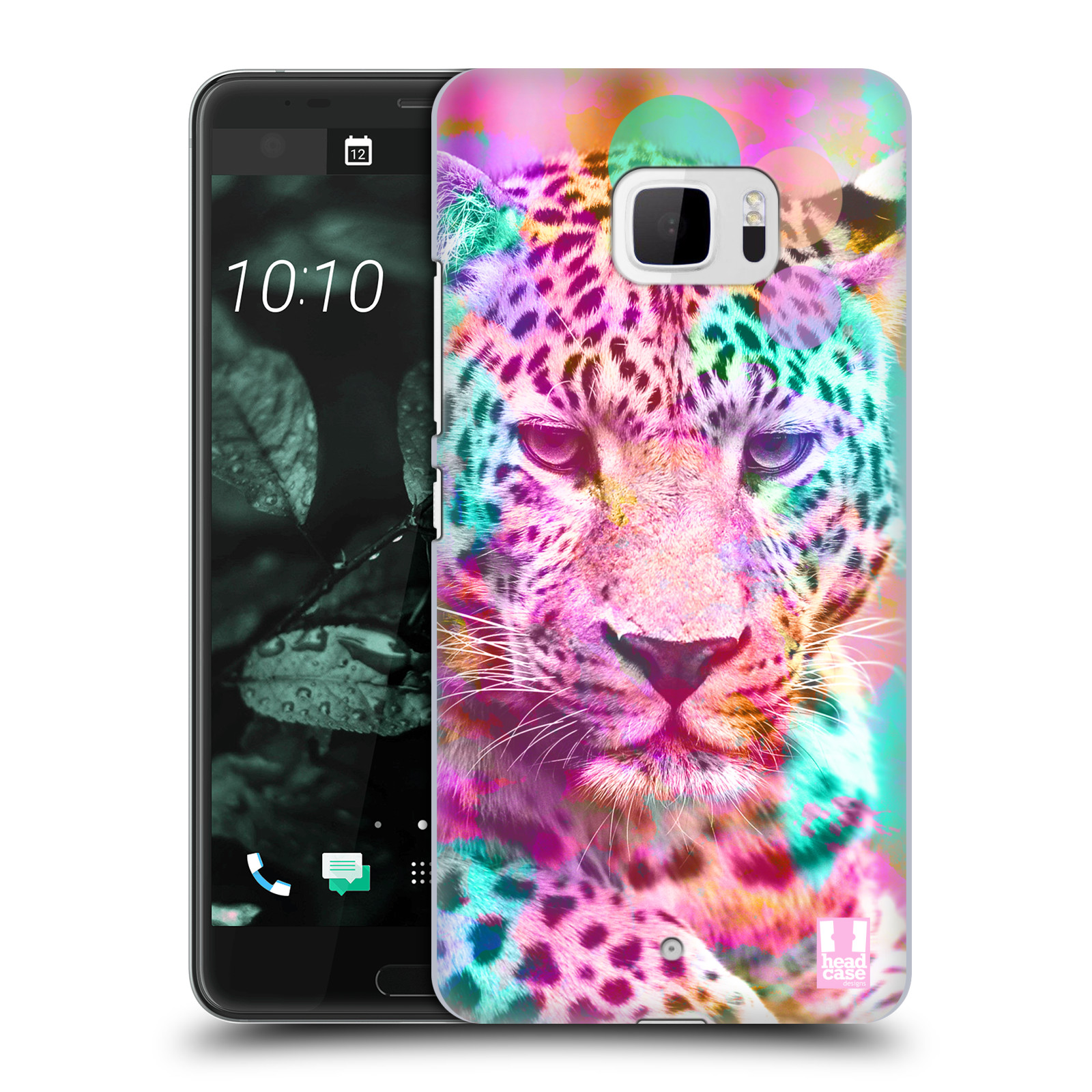 Plastové pouzdro na mobil HTC U Ultra Head Case - MIX LEOPARD (Plastový kryt či obal na mobilní telefon HTC U Ultra (99HALT015-00))