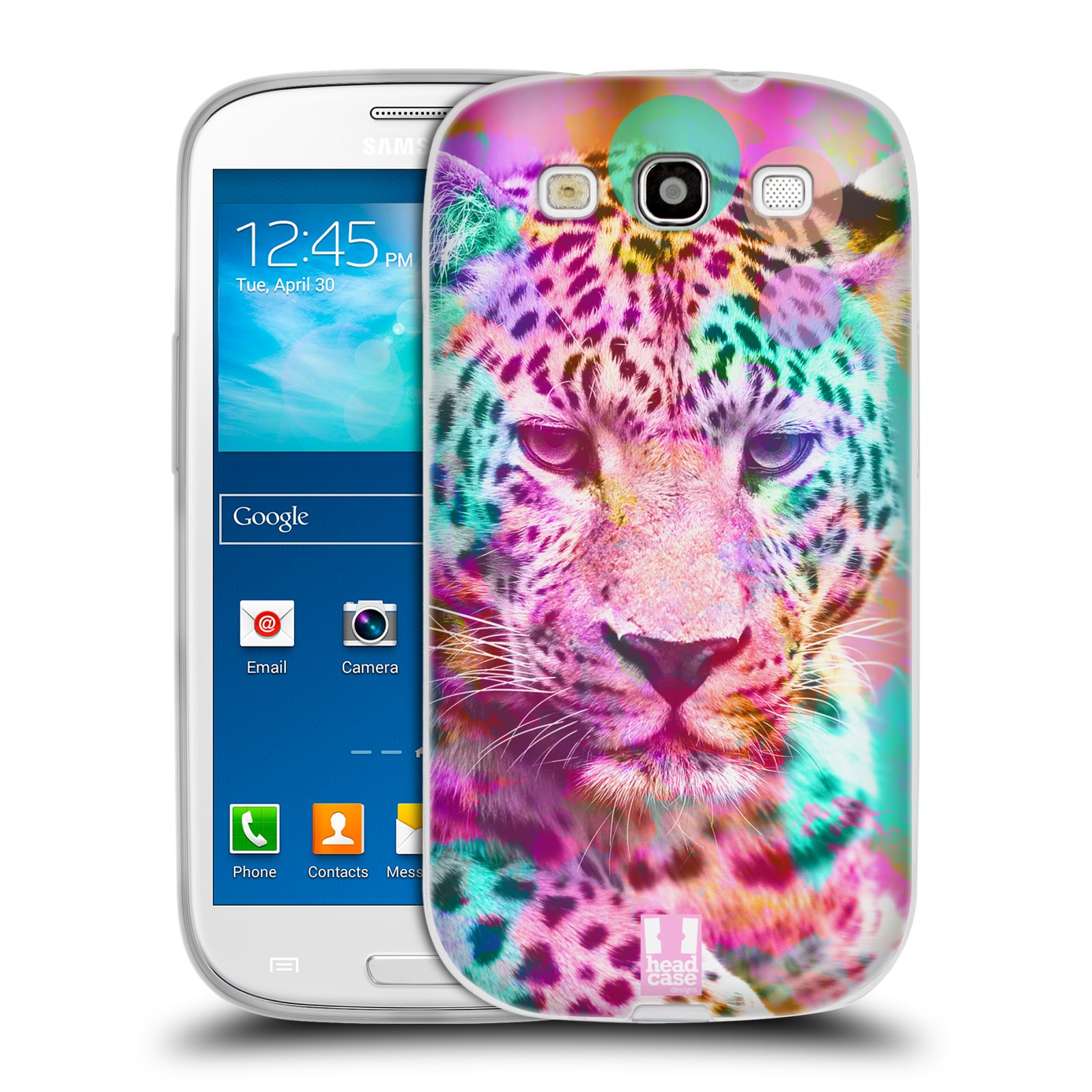 Silikonové pouzdro na mobil Samsung Galaxy S3 Neo HEAD CASE MIX LEOPARD (Silikonový kryt či obal na mobilní telefon Samsung Galaxy S3 Neo GT-i9301i)