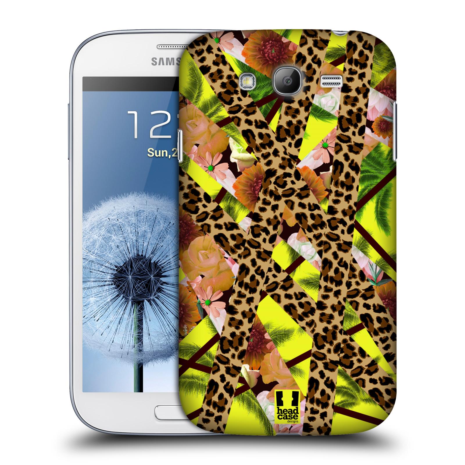 Plastové pouzdro na mobil Samsung Galaxy Grand Neo Plus HEAD CASE MIX TROPIC (Kryt či obal na mobilní telefon Samsung Galaxy Grand Neo Plus GT-i9060i)