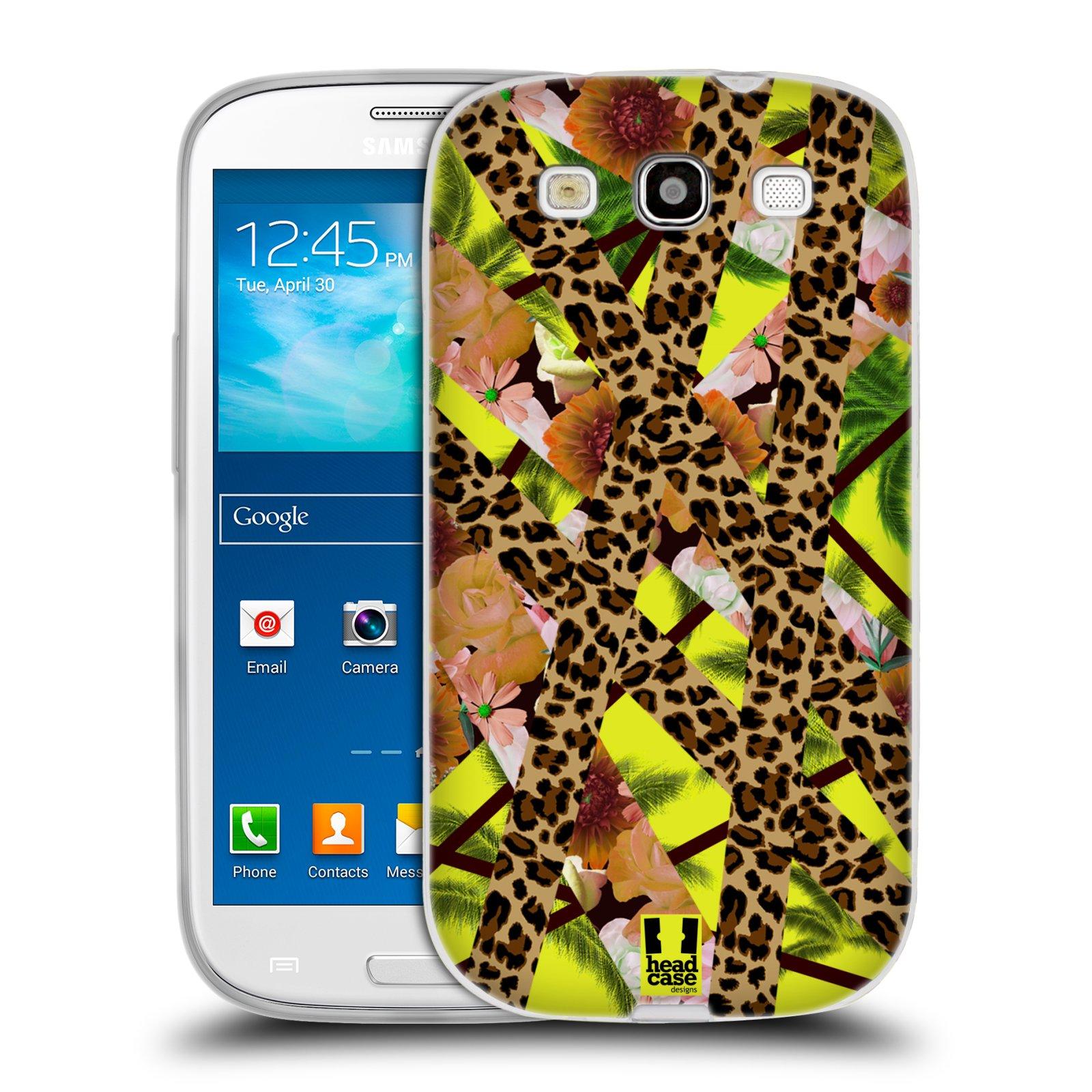 Silikonové pouzdro na mobil Samsung Galaxy S3 Neo HEAD CASE MIX TROPIC (Silikonový kryt či obal na mobilní telefon Samsung Galaxy S3 Neo GT-i9301i)
