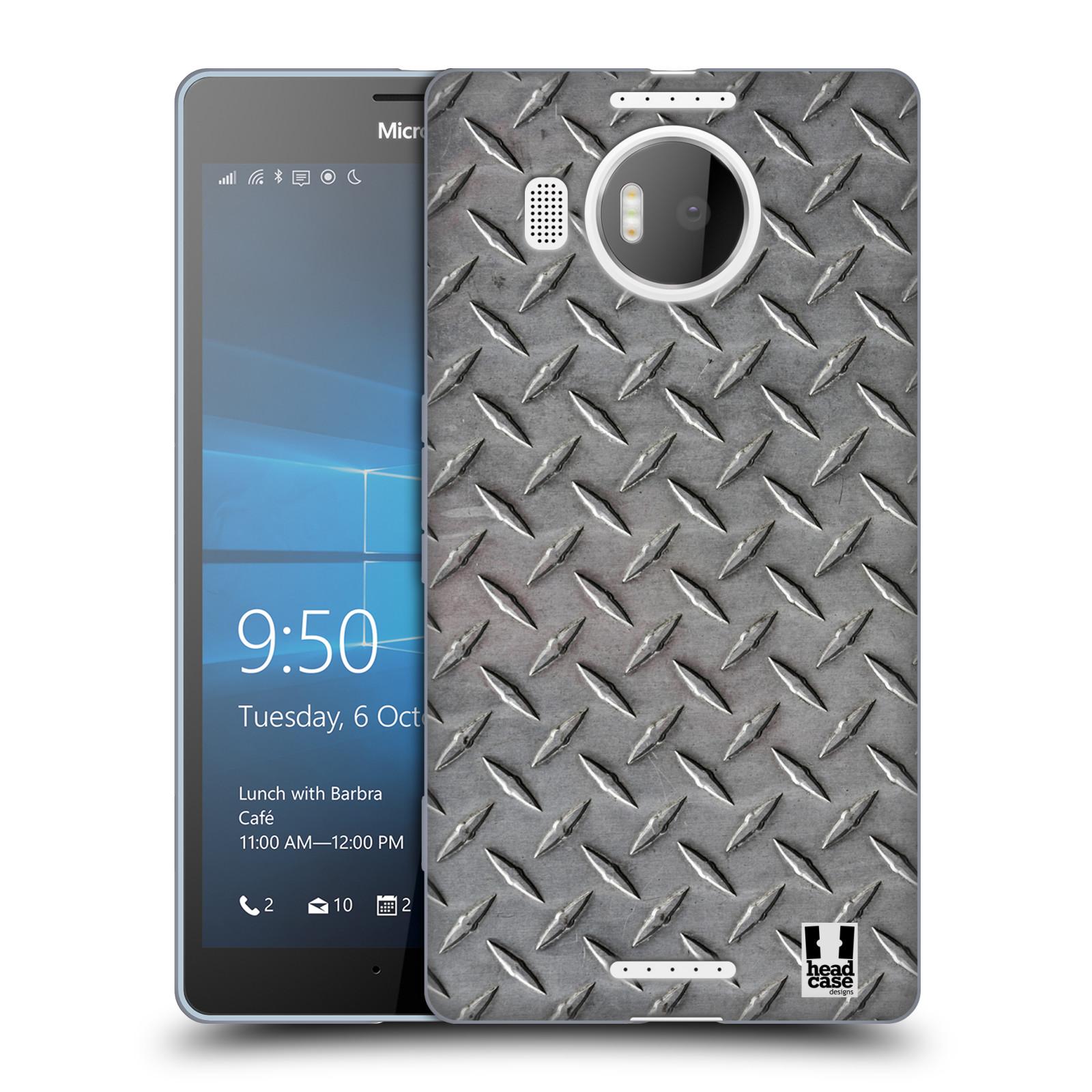Silikonové pouzdro na mobil Microsoft Lumia 950 XL HEAD CASE TRUCK STEP