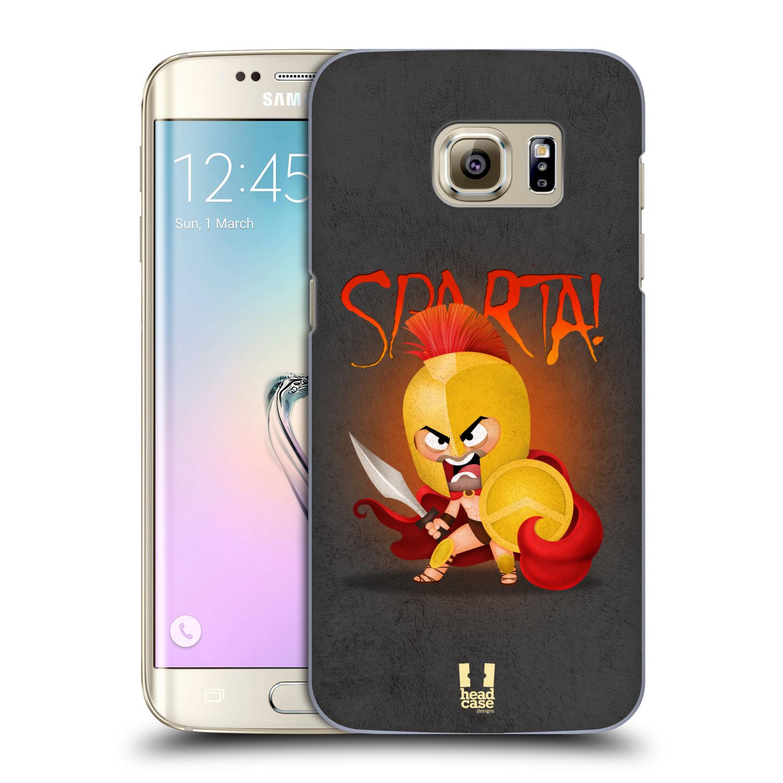 Plastové pouzdro na mobil Samsung Galaxy S7 Edge HEAD CASE Sparta (Kryt či obal na mobilní telefon Samsung Galaxy S7 Edge SM-G935F)