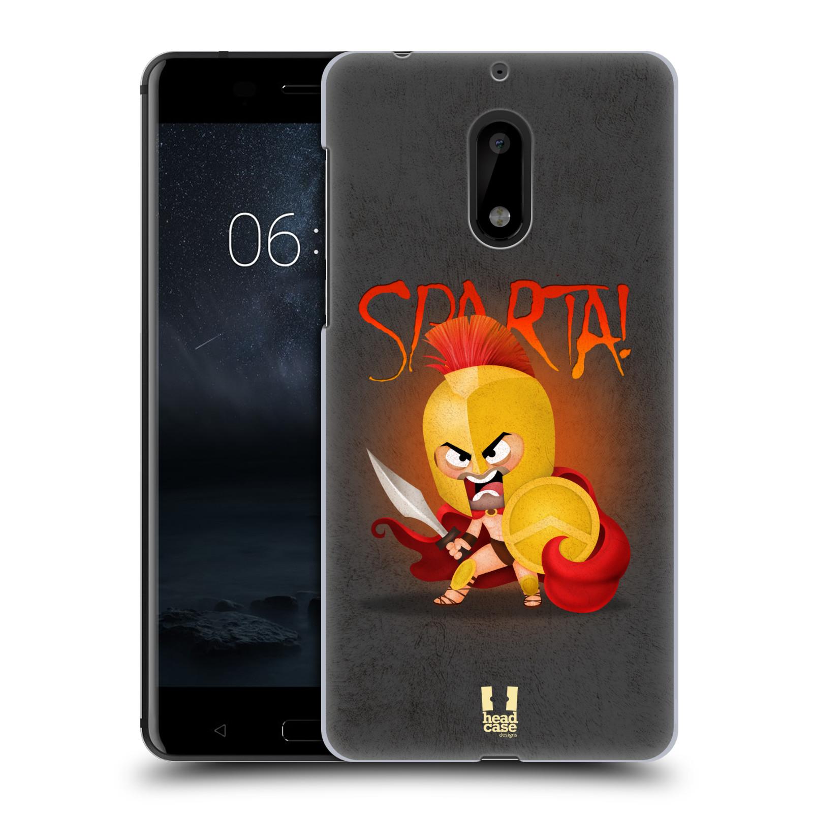 Plastové pouzdro na mobil Nokia 6 - Head Case Sparta (Plastový kryt či obal na mobilní telefon Nokia 6 (Dual SIM))