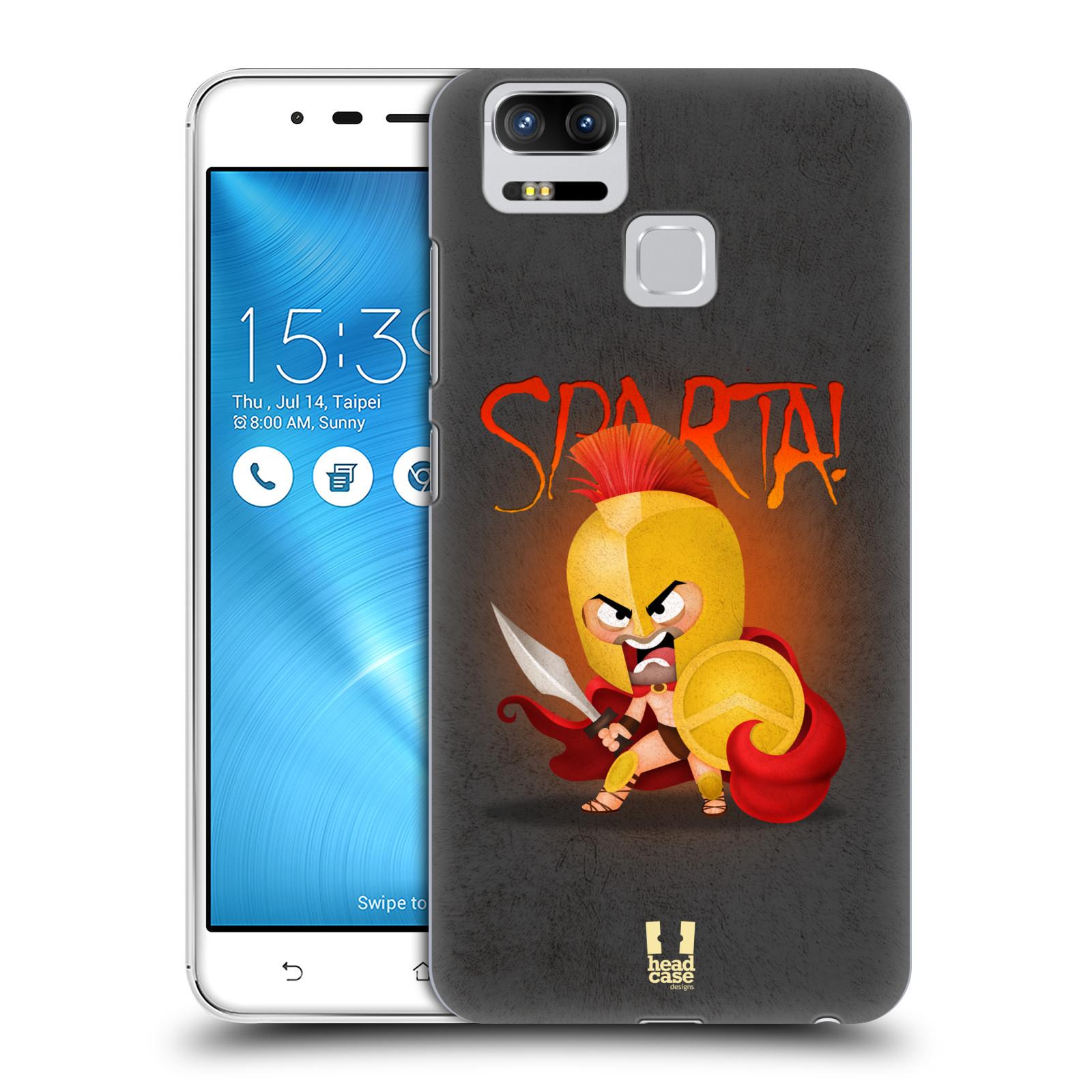 Plastové pouzdro na mobil Asus ZenFone 3 ZOOM ZE553KL - Head Case - Sparta (Plastový kryt či obal na mobilní telefon Asus ZenFone 3 ZOOM ZE553KL s motivem Sparta)