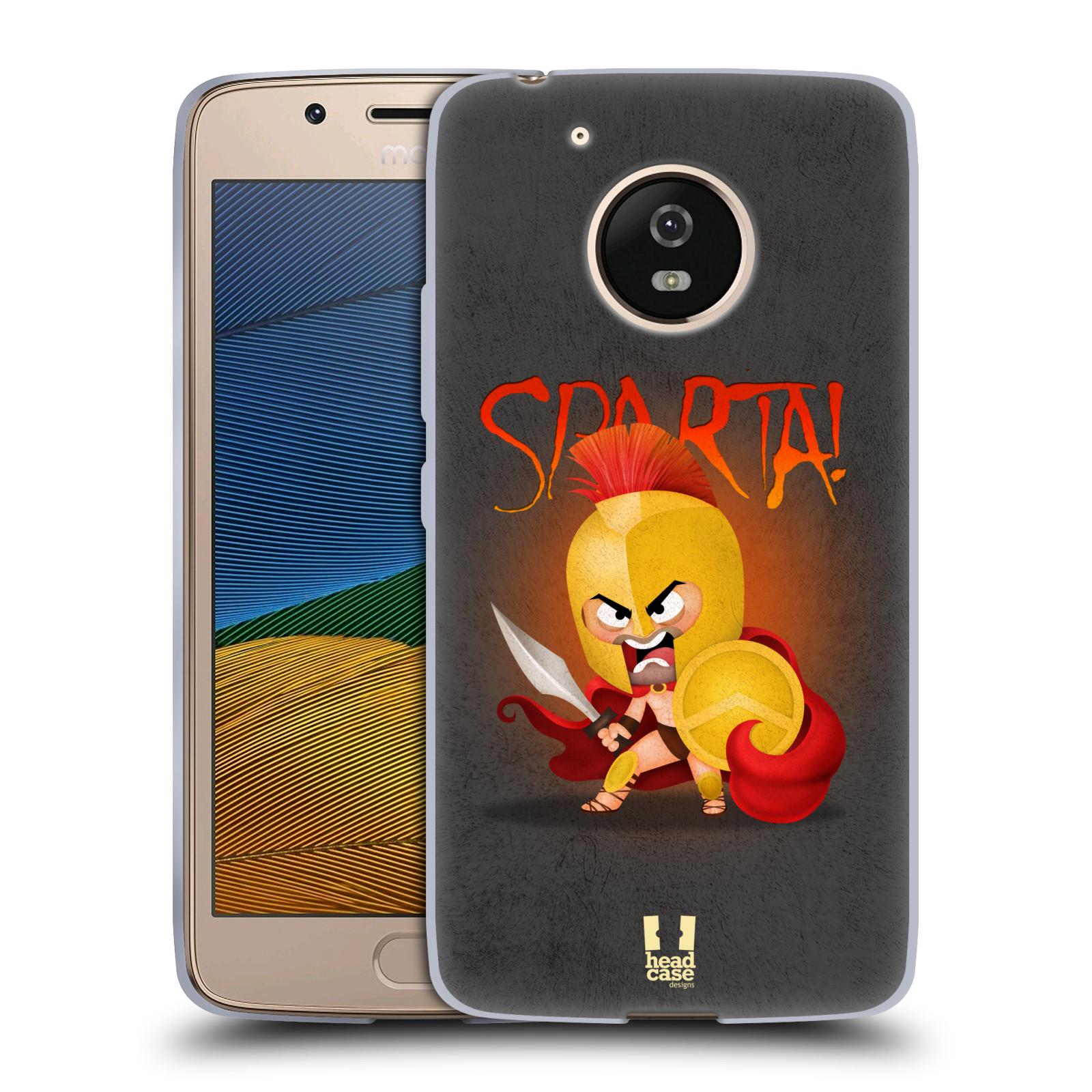 Silikonové pouzdro na mobil Lenovo Moto G5 - Head Case Sparta (Silikonový kryt či obal na mobilní telefon Lenovo Moto G5)