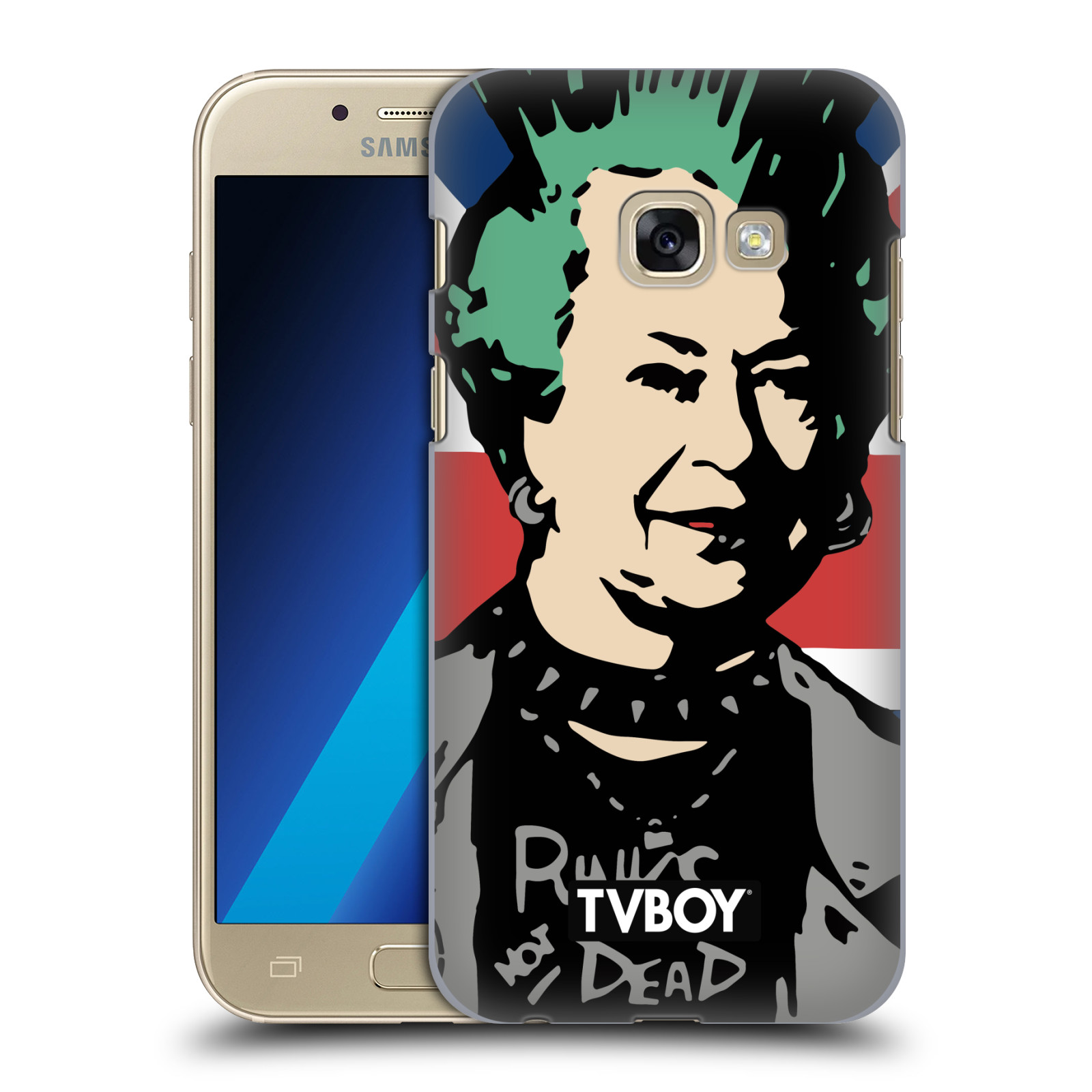 Plastové pouzdro na mobil Samsung Galaxy A3 (2017) HEAD CASE - TVBOY - Punková Královna