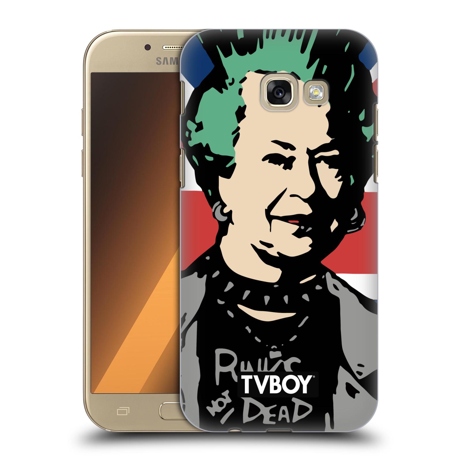 Plastové pouzdro na mobil Samsung Galaxy A5 (2017) HEAD CASE - TVBOY - Punková Královna