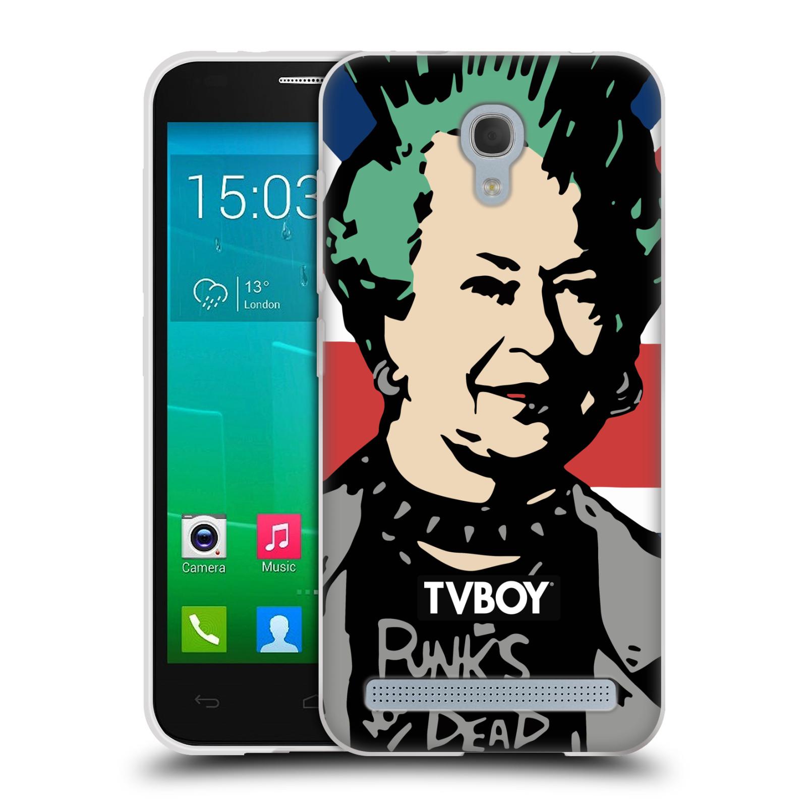 Silikonové pouzdro na mobil Alcatel One Touch Idol 2 Mini S 6036Y HEAD CASE - TVBOY - Punková Královna (Silikonový kryt či obal na mobilní telefon s licencovaným motivem TVBOY pro Alcatel Idol 2 Mini S OT-6036Y)