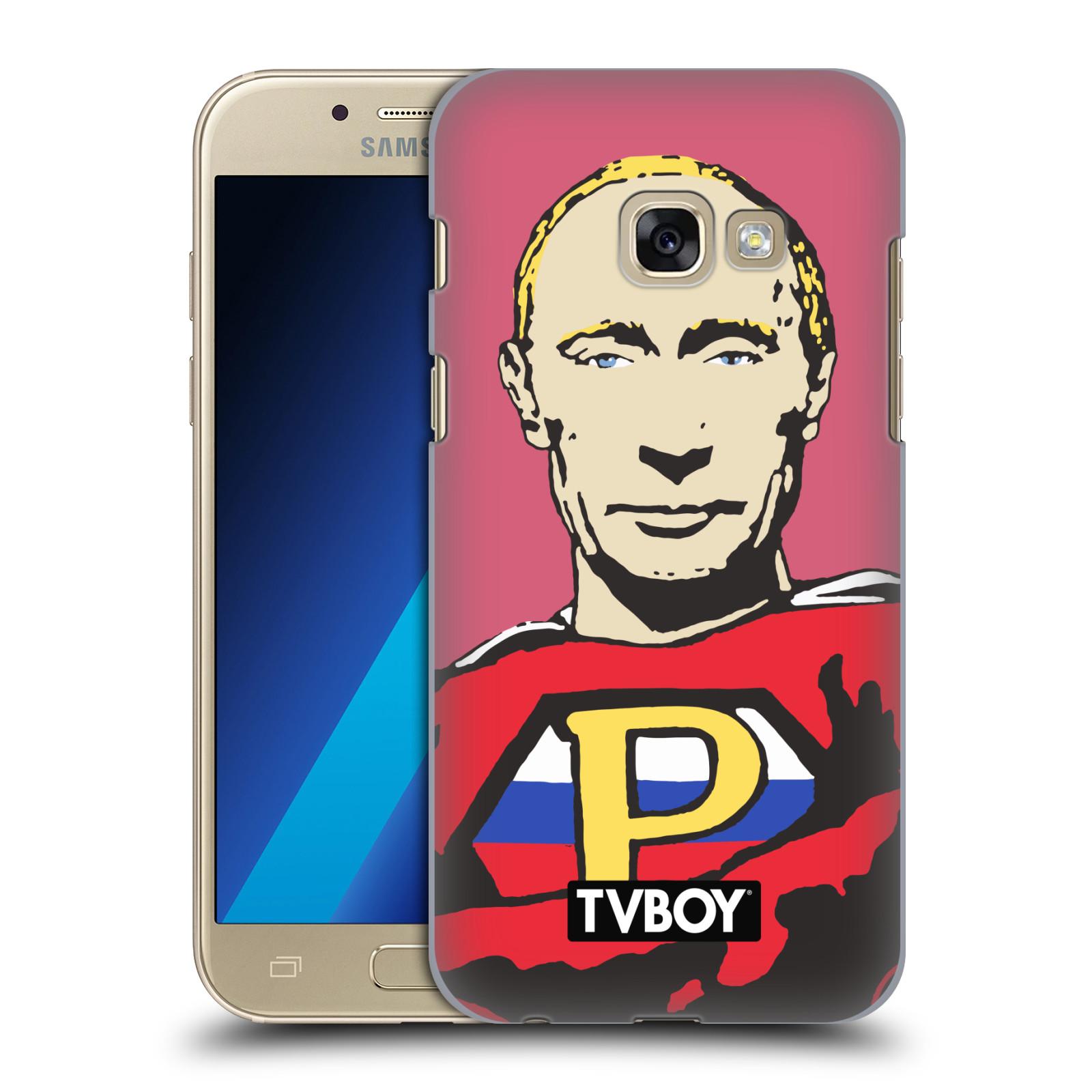 Plastové pouzdro na mobil Samsung Galaxy A3 (2017) HEAD CASE - TVBOY - Super Putin
