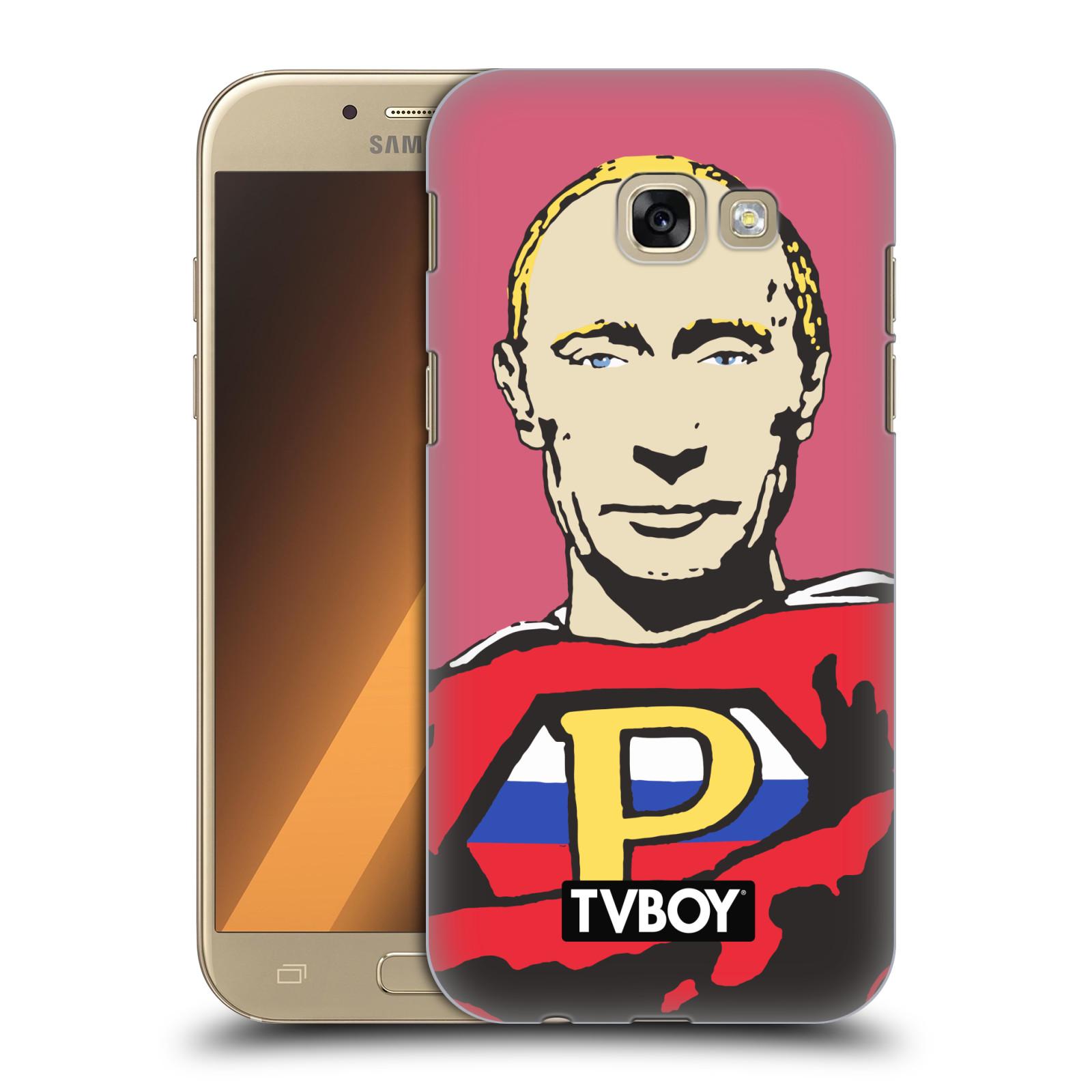 Plastové pouzdro na mobil Samsung Galaxy A5 (2017) HEAD CASE - TVBOY - Super Putin