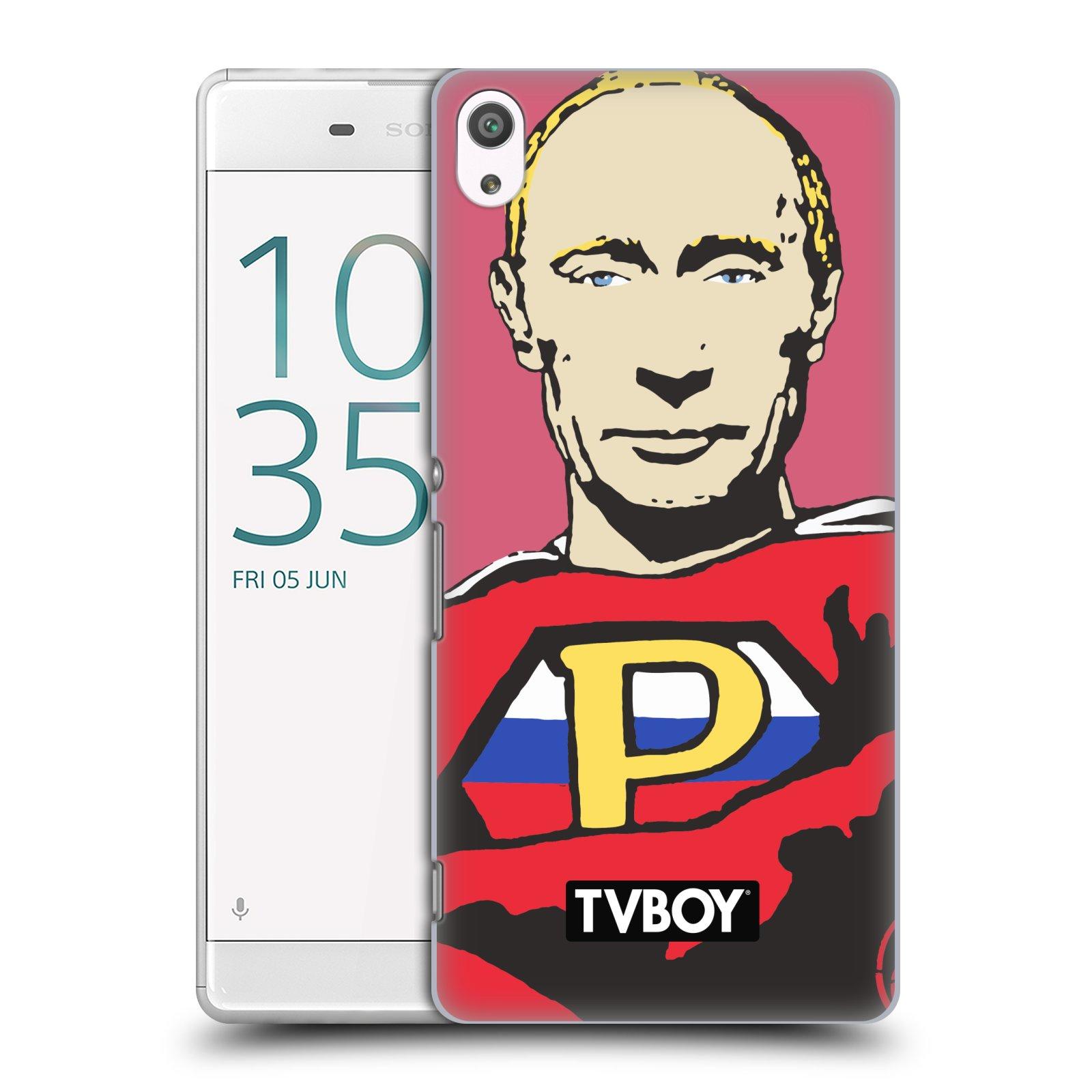 Plastové pouzdro na mobil Sony Xperia XA Ultra HEAD CASE - TVBOY - Super Putin