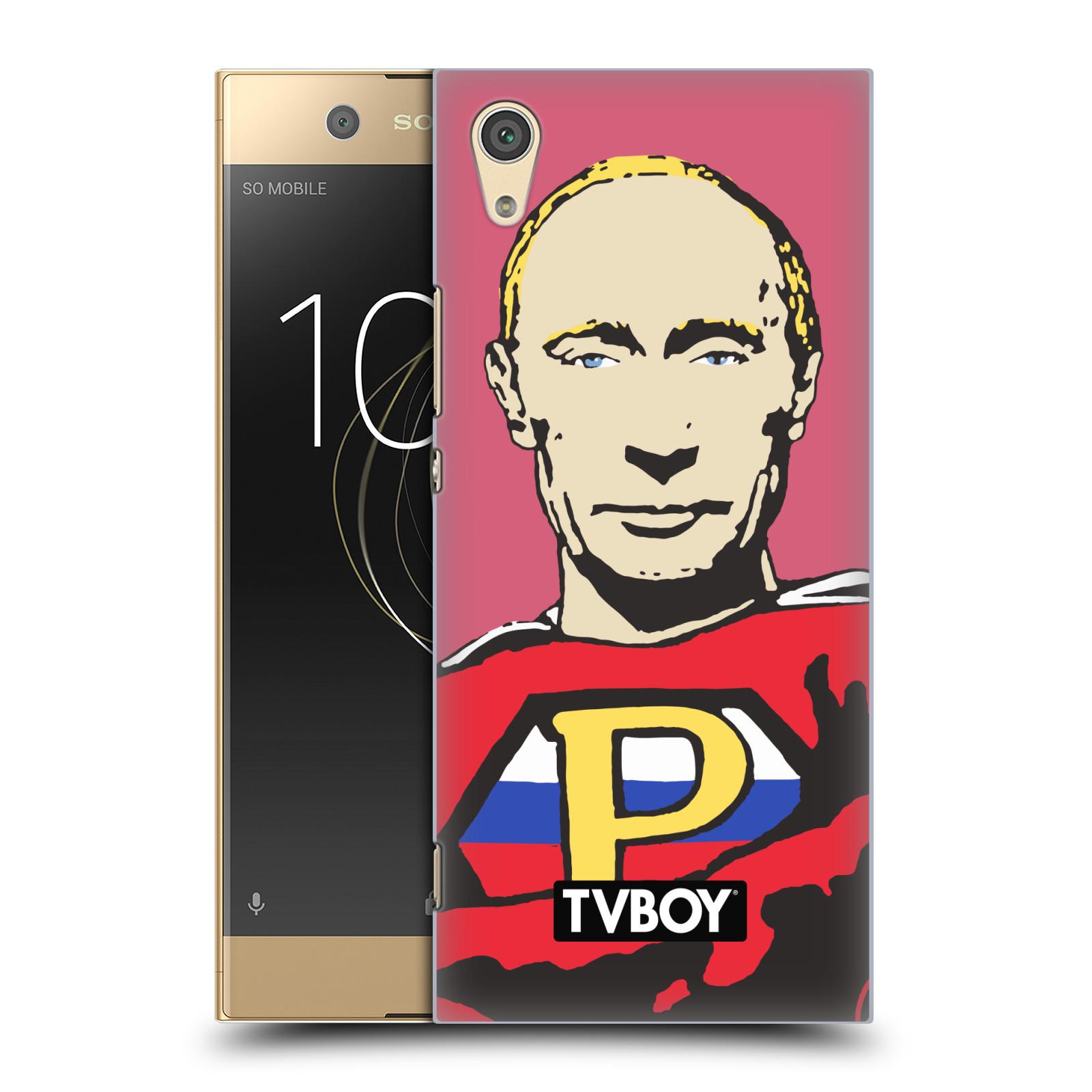 Plastové pouzdro na mobil Sony Xperia XA1 - Head Case - TVBOY - Super Putin