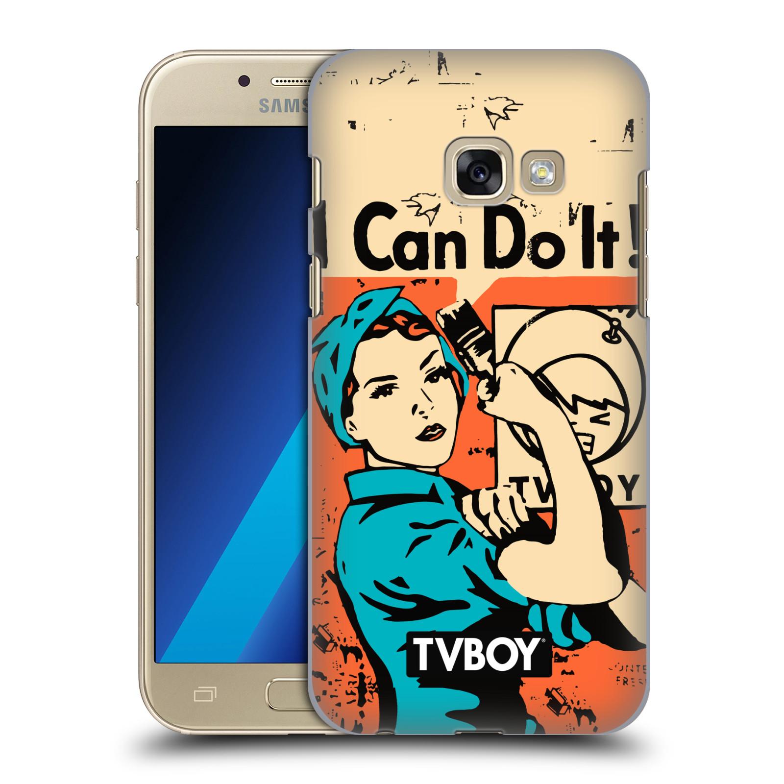 Plastové pouzdro na mobil Samsung Galaxy A3 (2017) HEAD CASE - TVBOY - I can do it