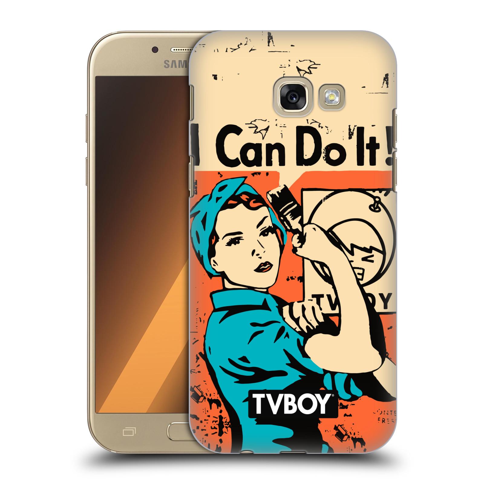 Plastové pouzdro na mobil Samsung Galaxy A5 (2017) HEAD CASE - TVBOY - I can do it