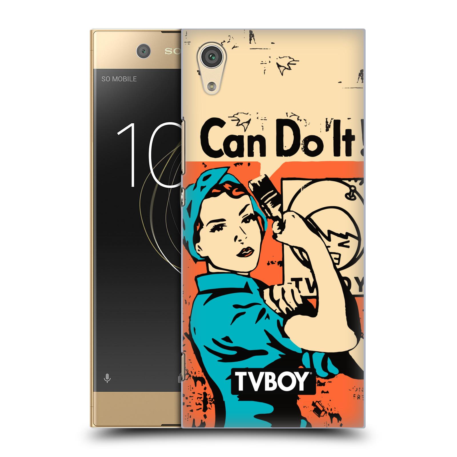 Plastové pouzdro na mobil Sony Xperia XA1 - Head Case - TVBOY - I can do it